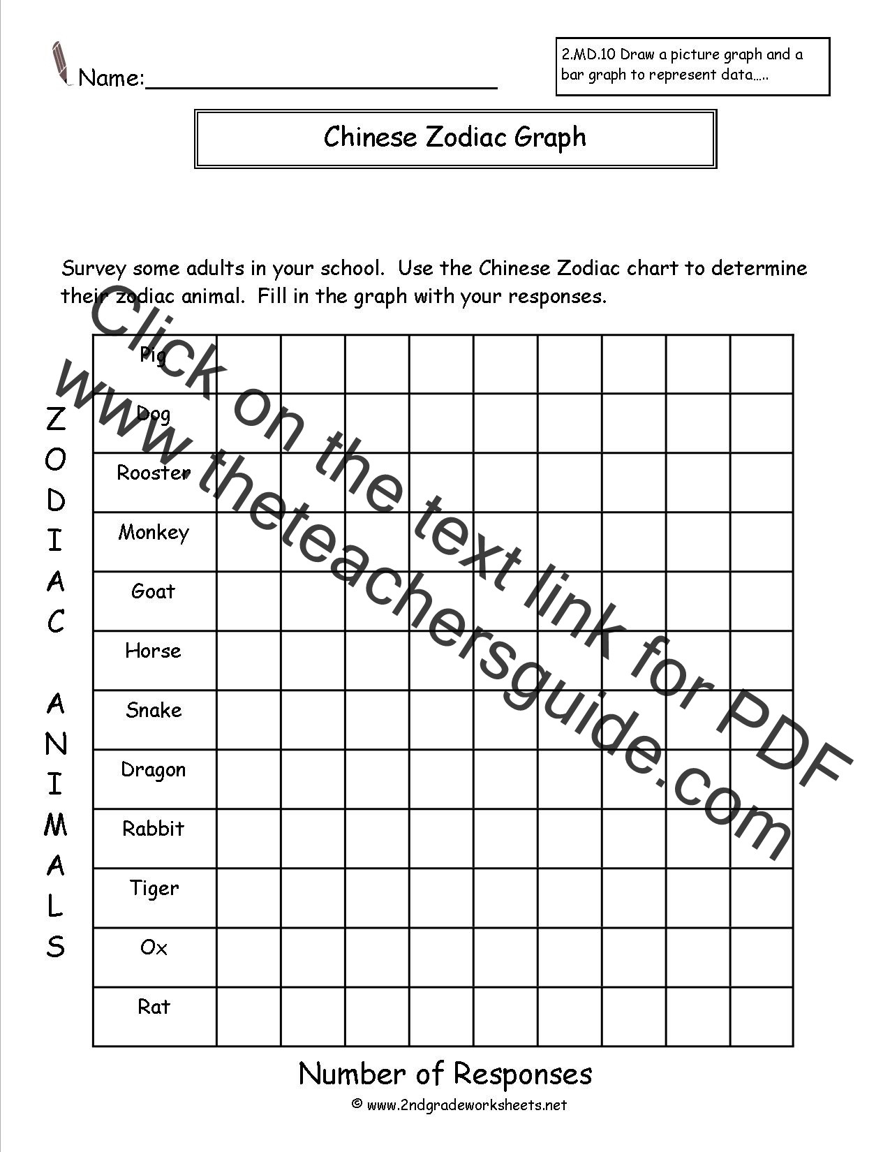 Bar Graph Printable Worksheets