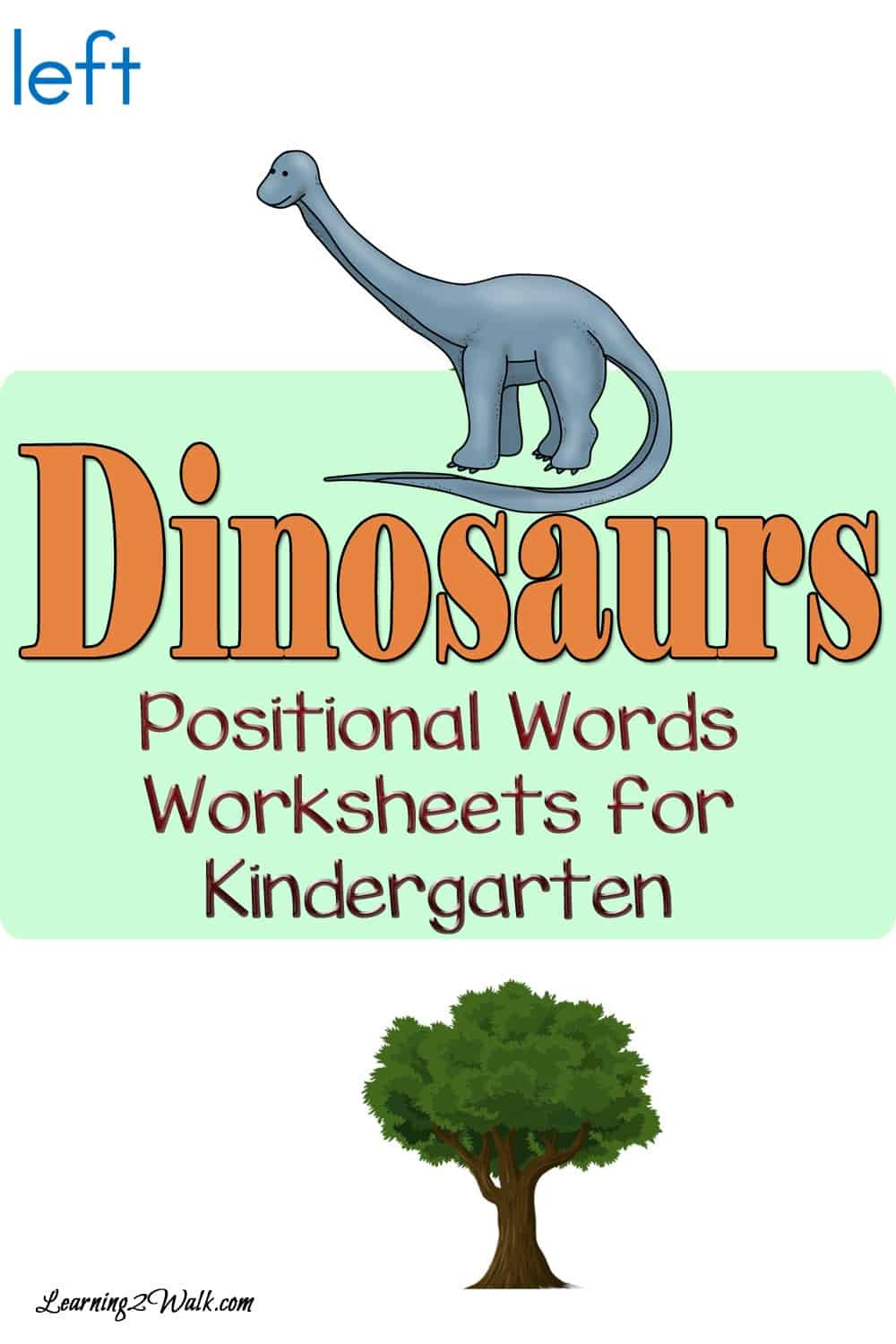 Dinosaur Worksheets for Kindergarten