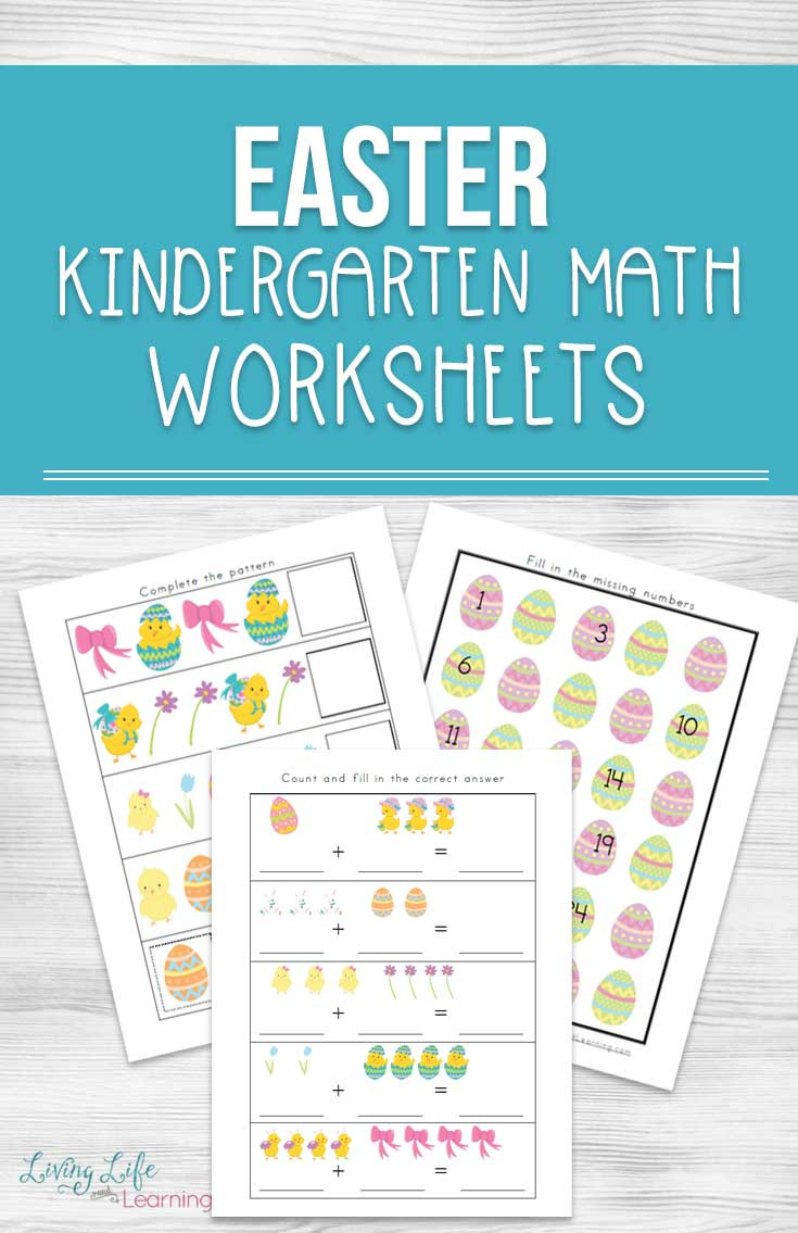 Easter Kindergarten Worksheets Free