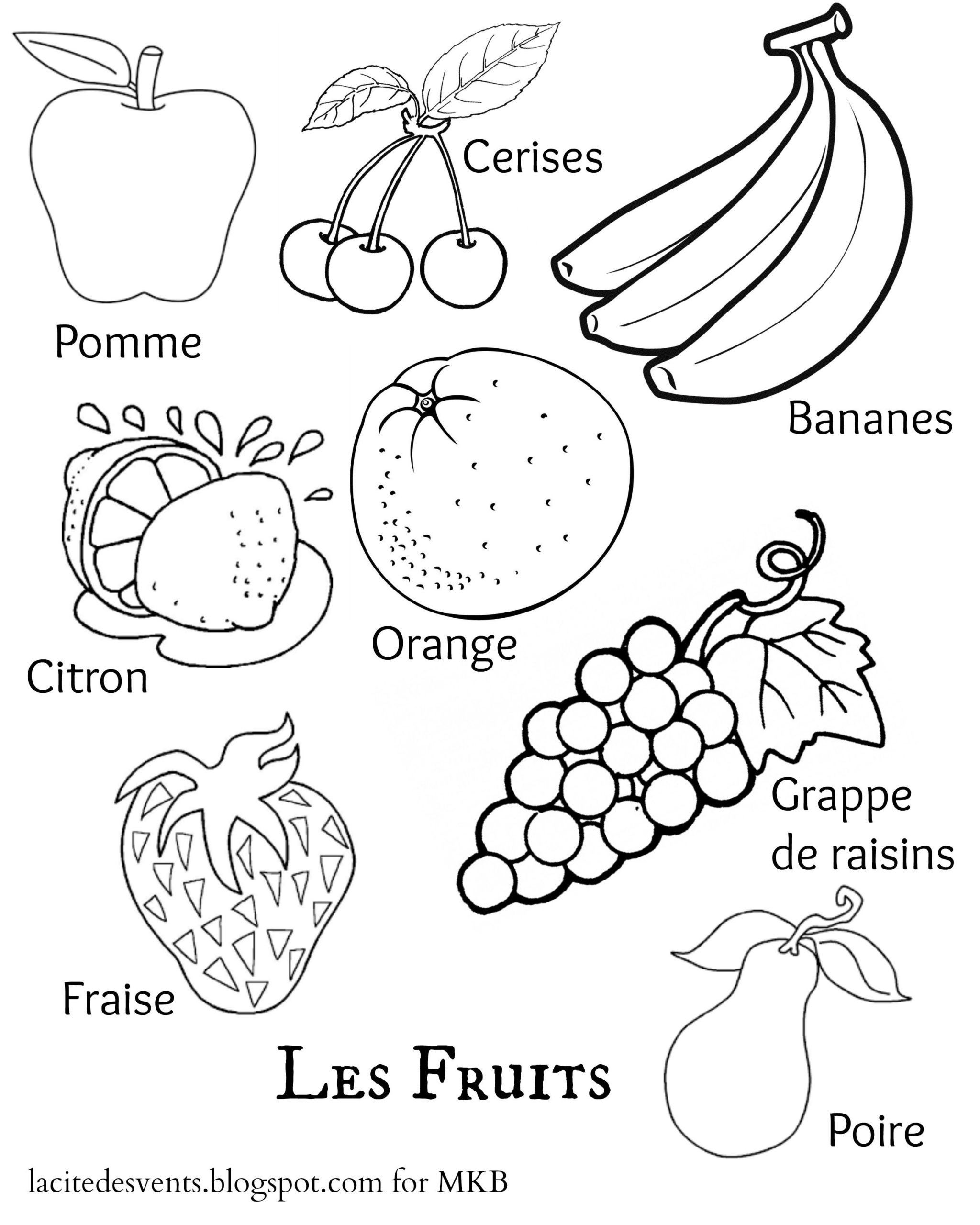 Free Printable French Worksheets