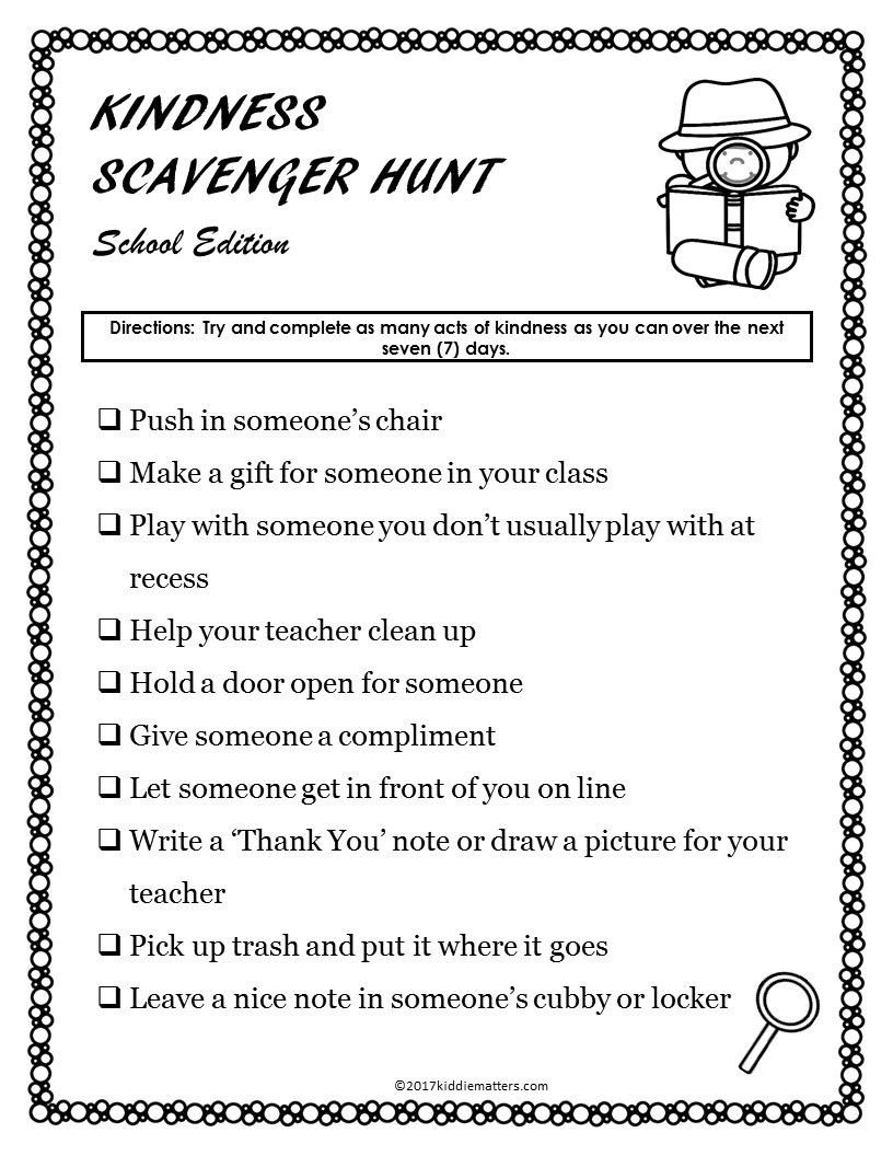 Free Printable Friendship Worksheets