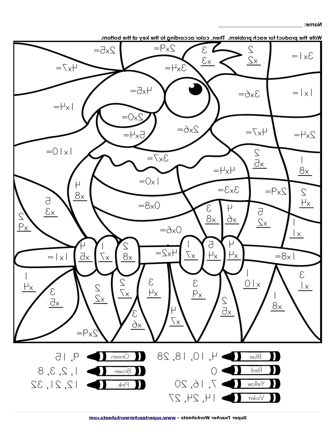Free Printable Halloween Math Worksheets