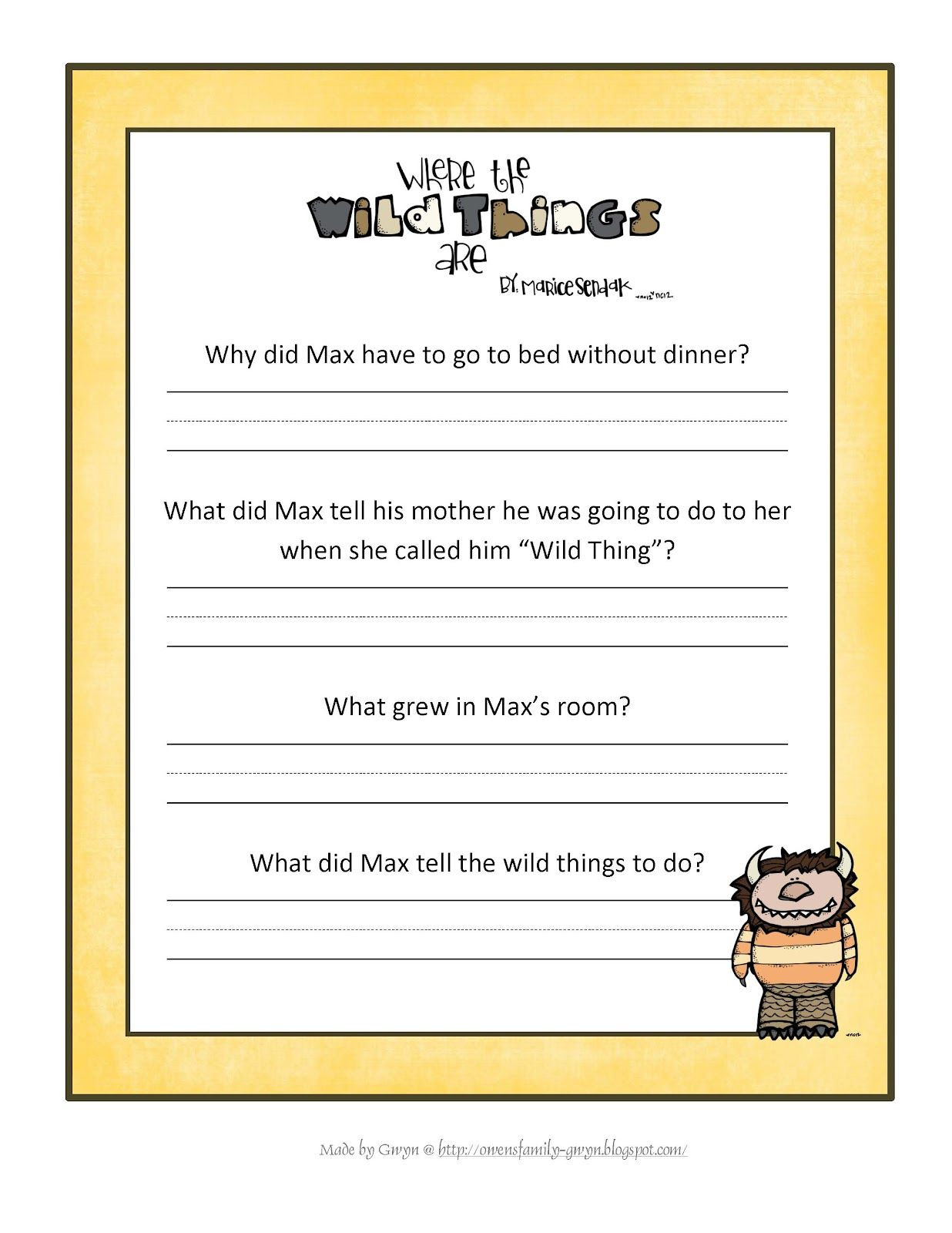 Free Printable Inference Worksheets
