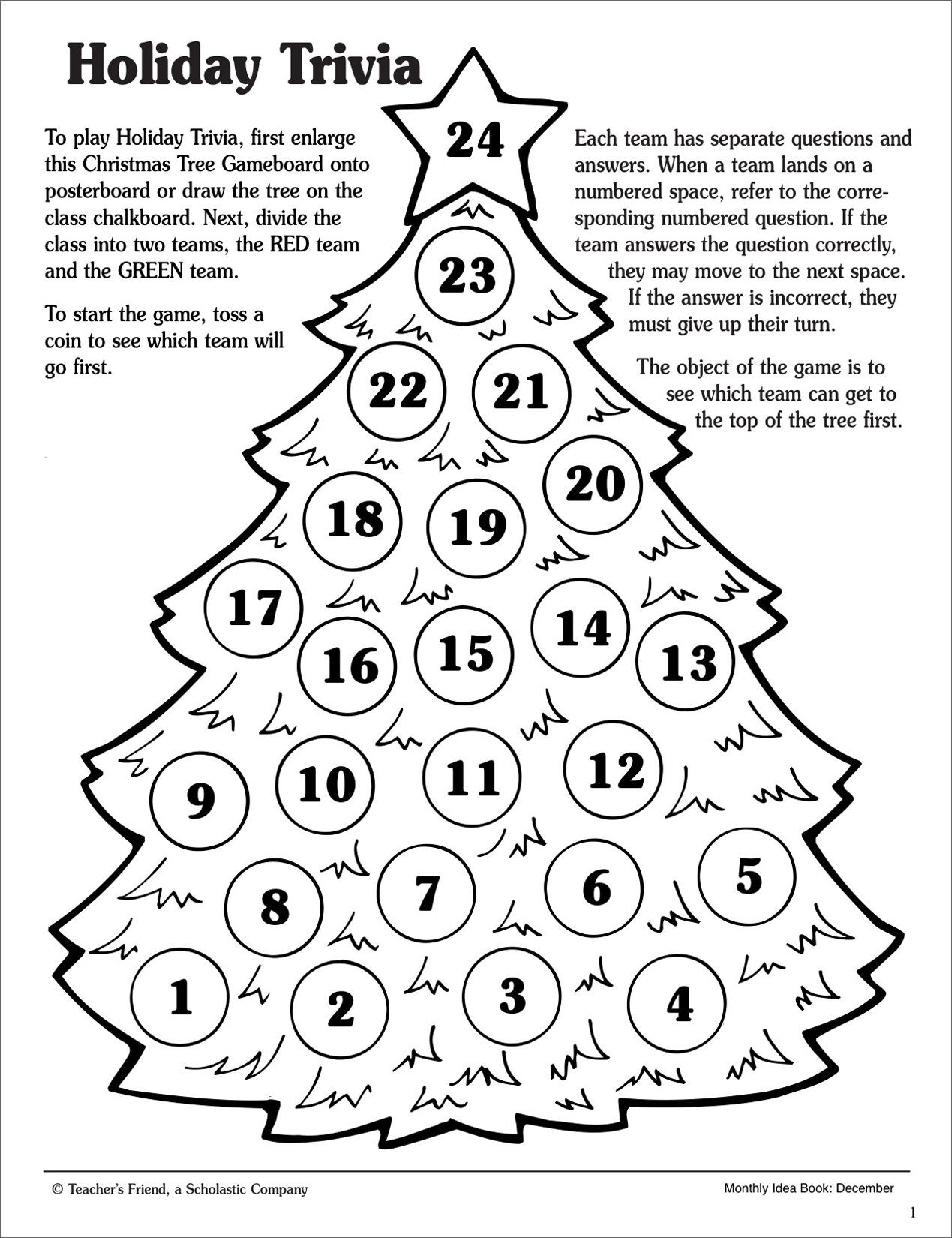 Free Printable Math Christmas Worksheets