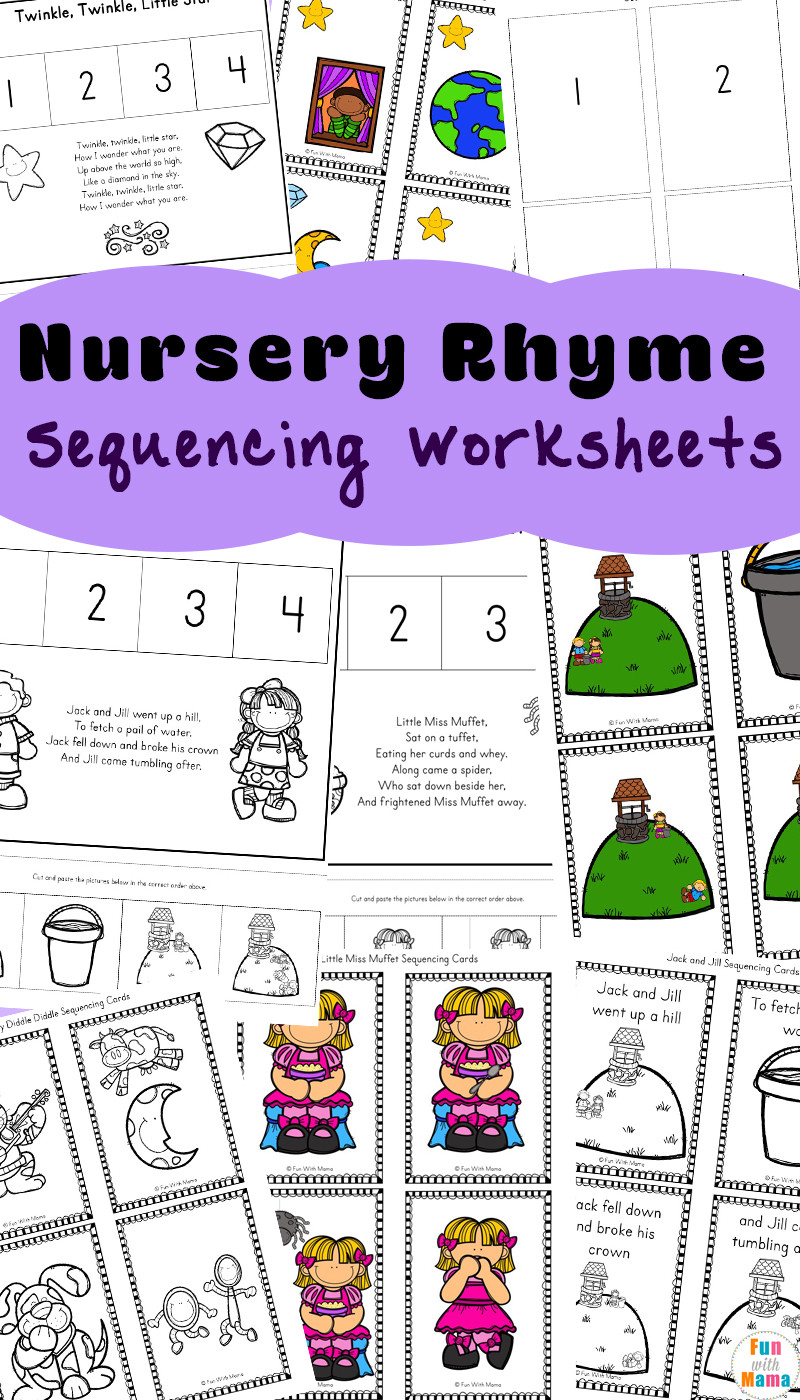 Free Rhyming Worksheets Kindergarten