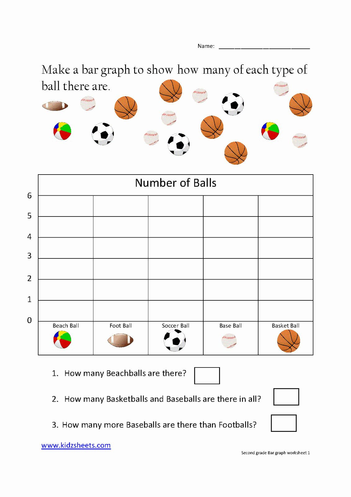 30 Free Bar Graph Worksheets in 2020