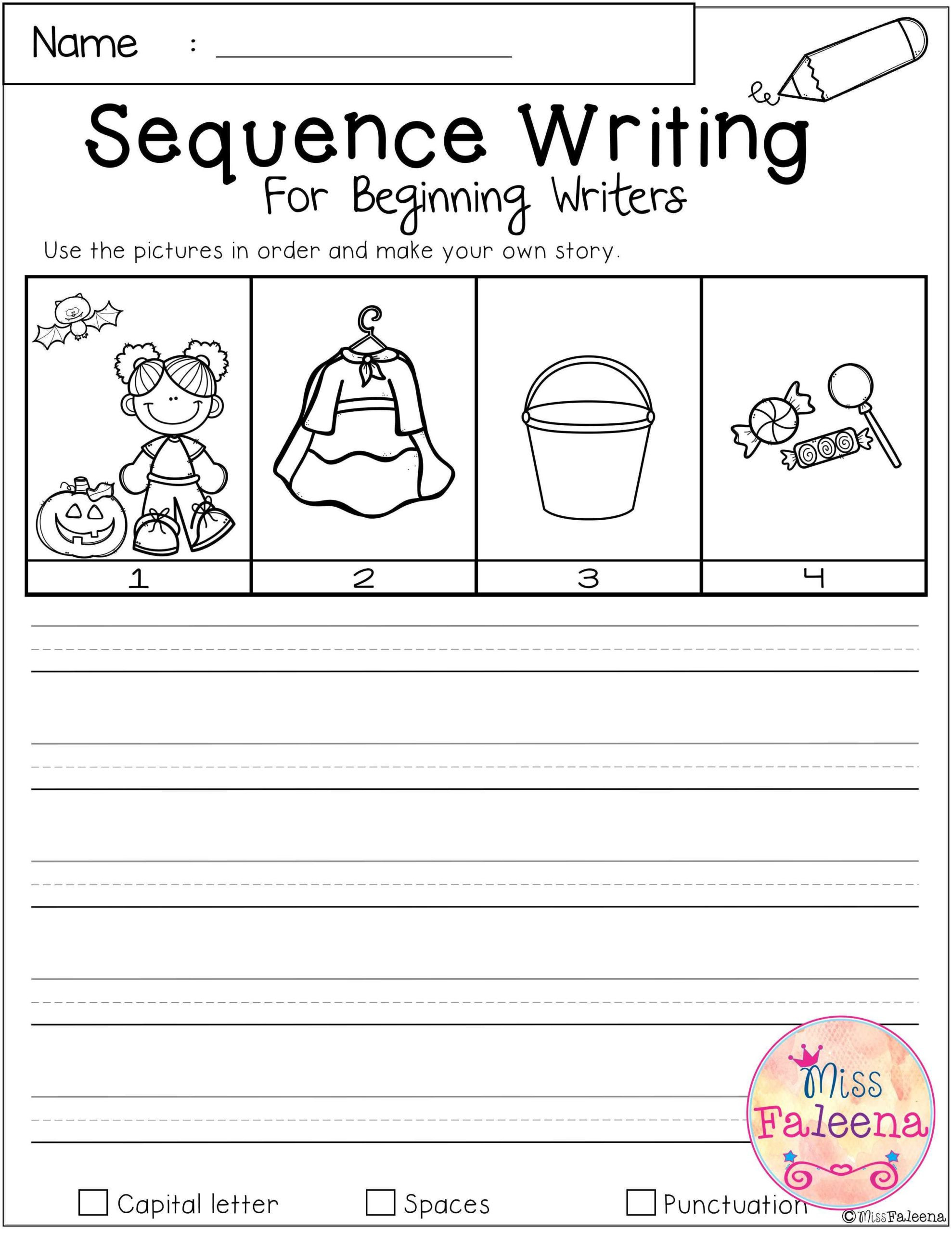 Kindergarten Sequencing Worksheet