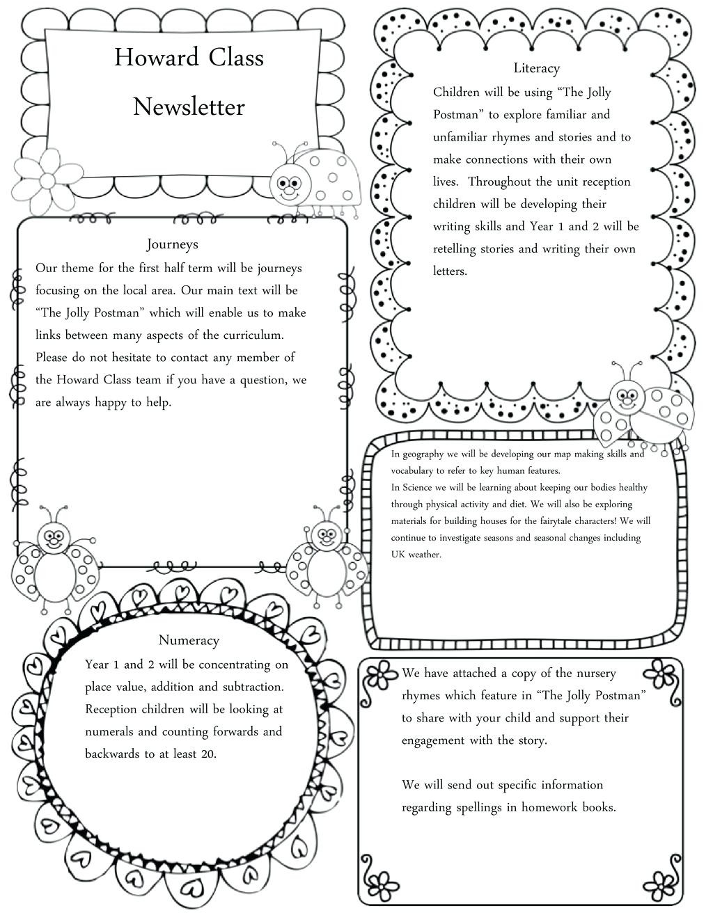 Kindergarten Story Retelling Worksheets
