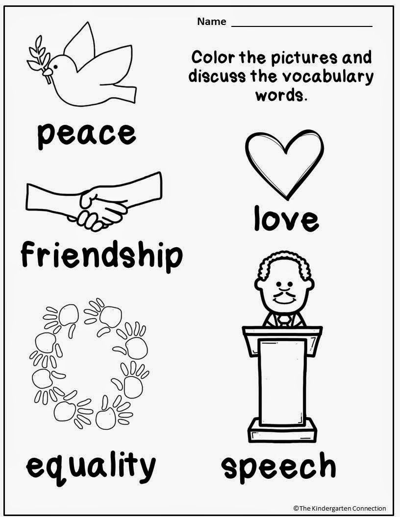 FREE Martin Luther King Jr Printables and Read Alouds for