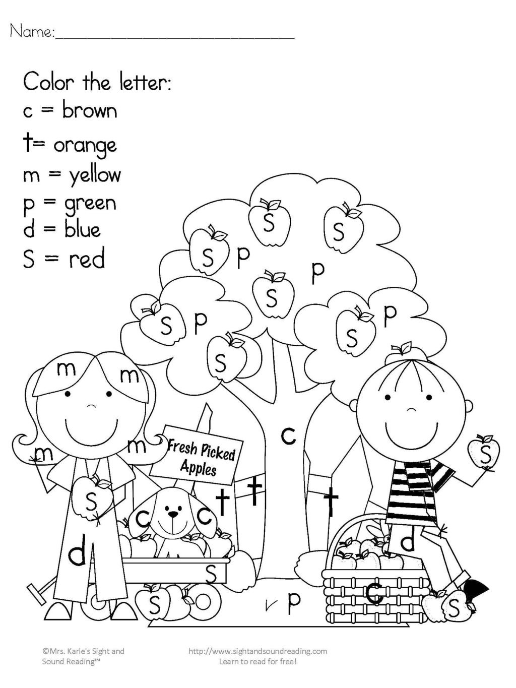 Music Worksheet for Kindergarten