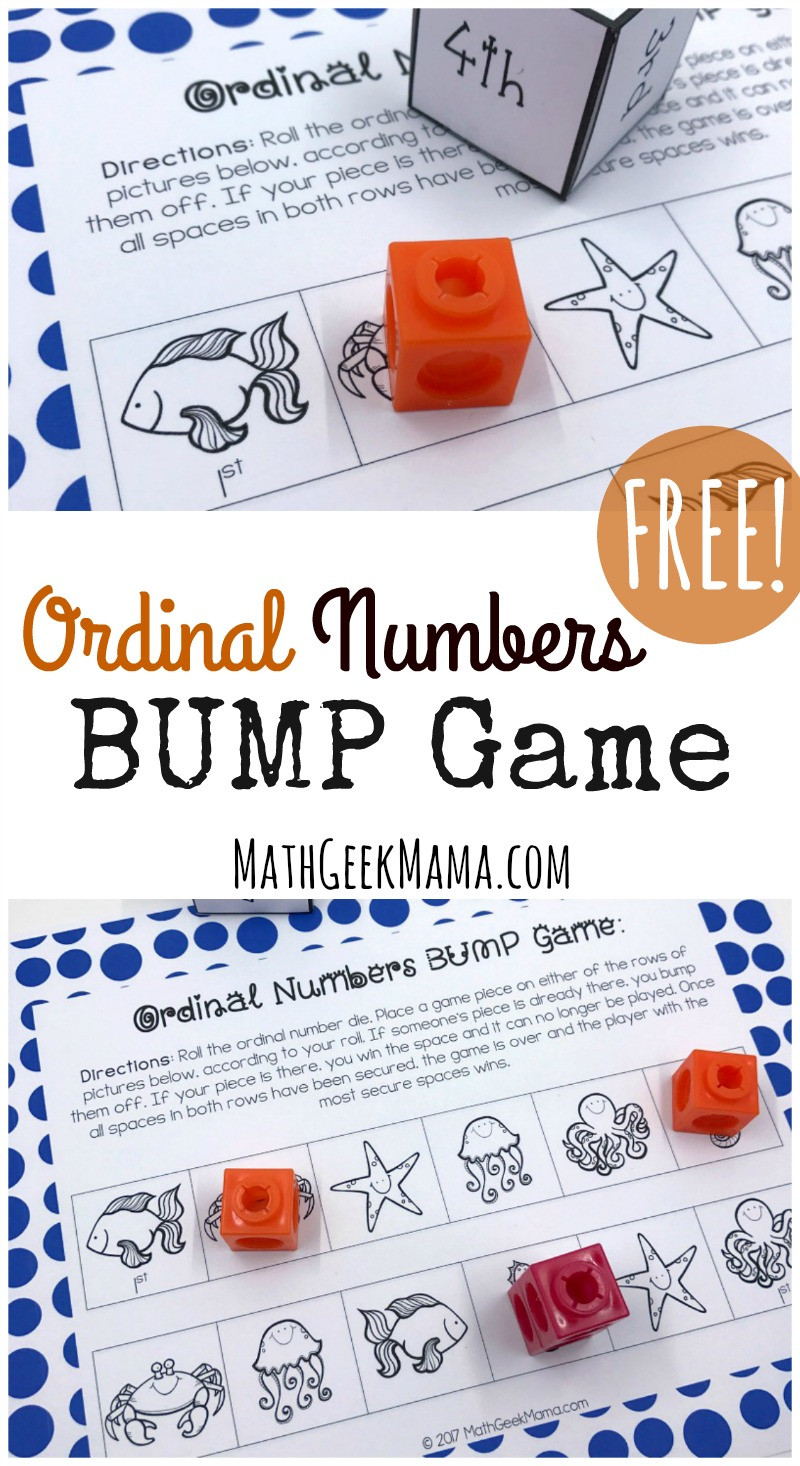 Ordinal Numbers Kindergarten Worksheets
