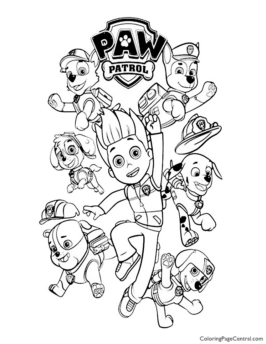 Paw Patrol Printable Worksheets