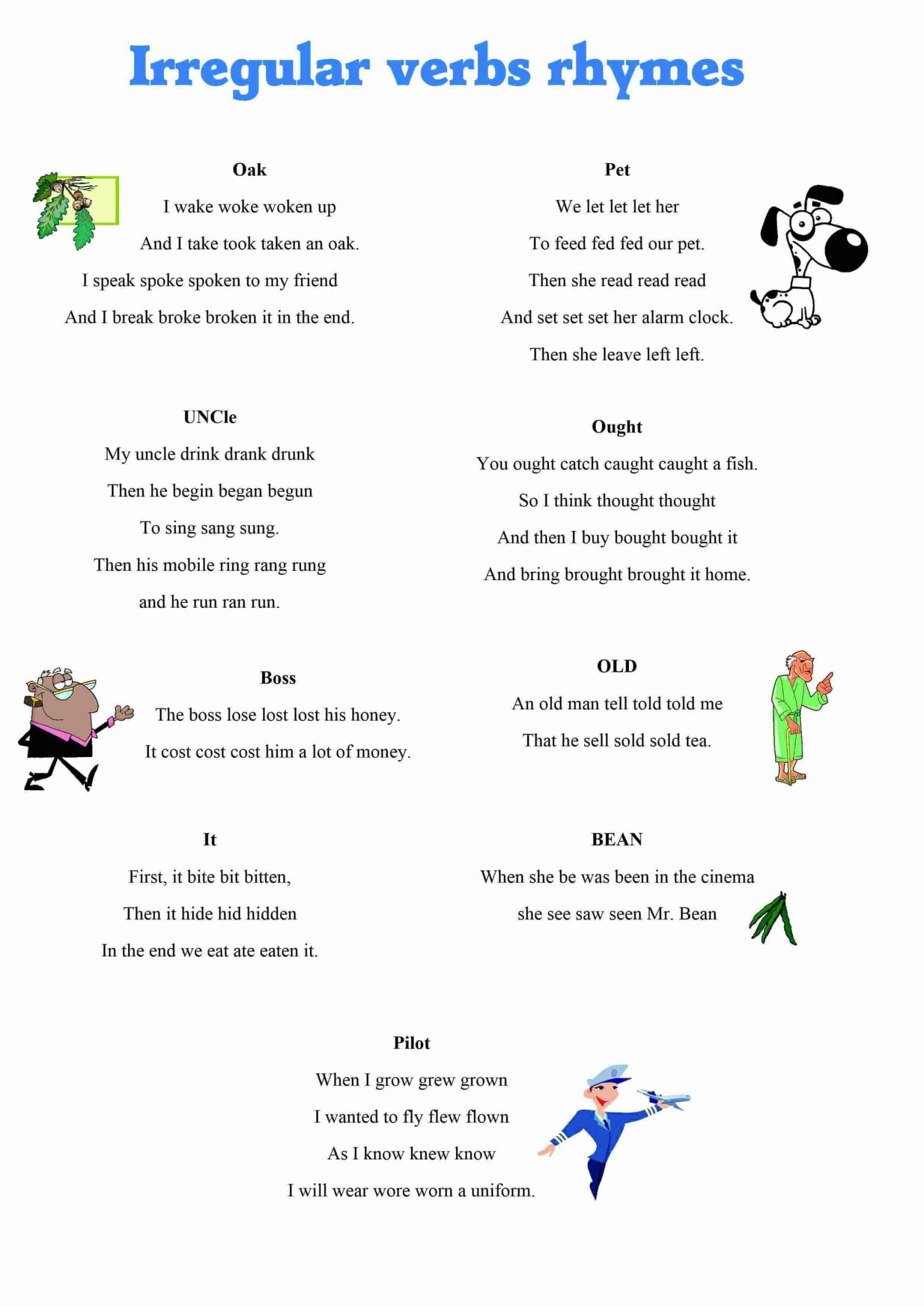 Pronoun Worksheets for Kindergarten