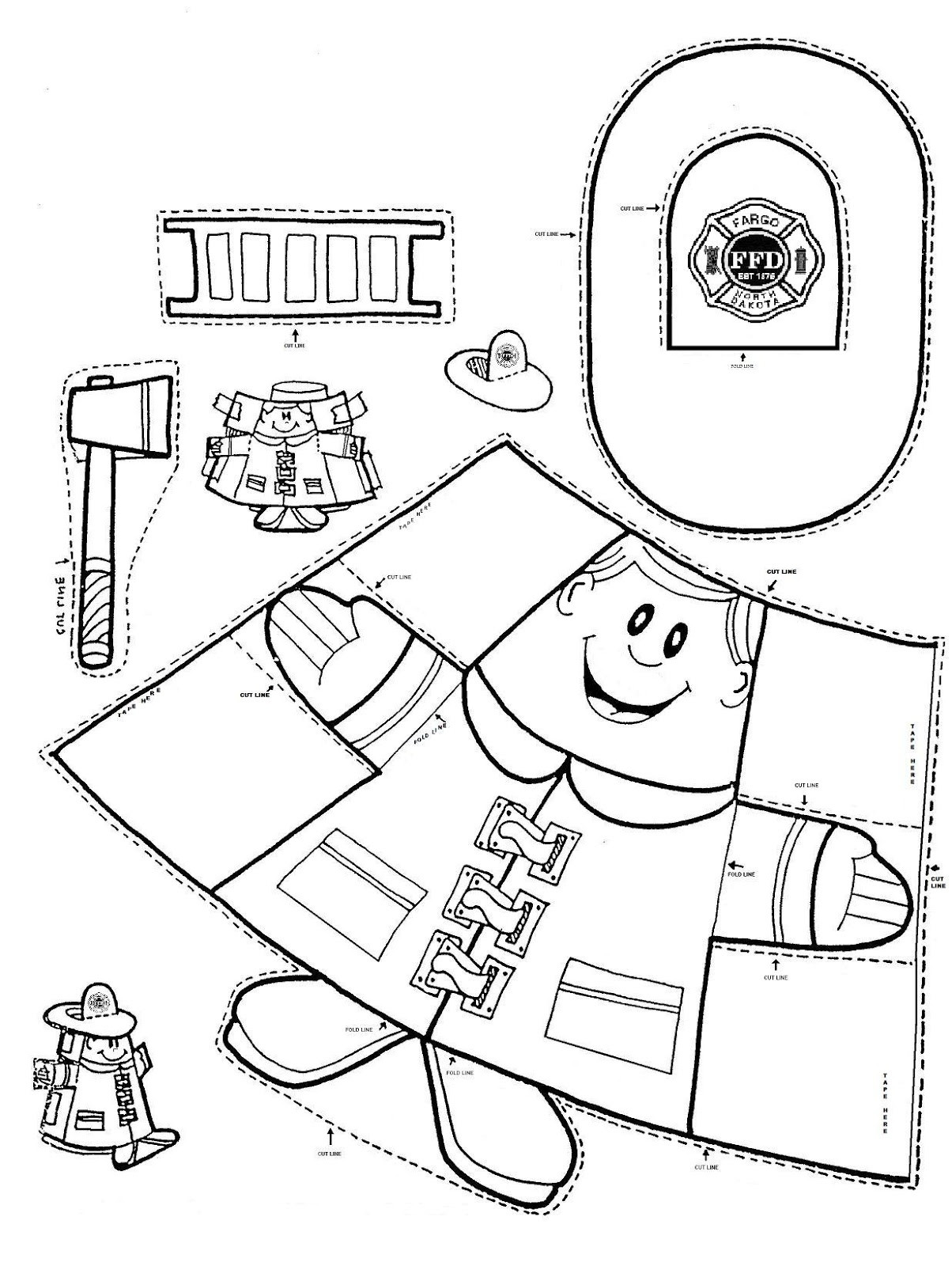 Safety Worksheets for Kindergarten