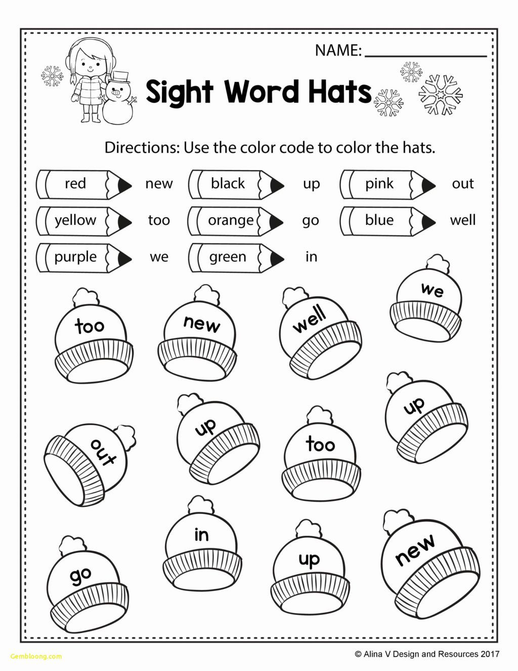 Seasons Worksheets for Kindergarten