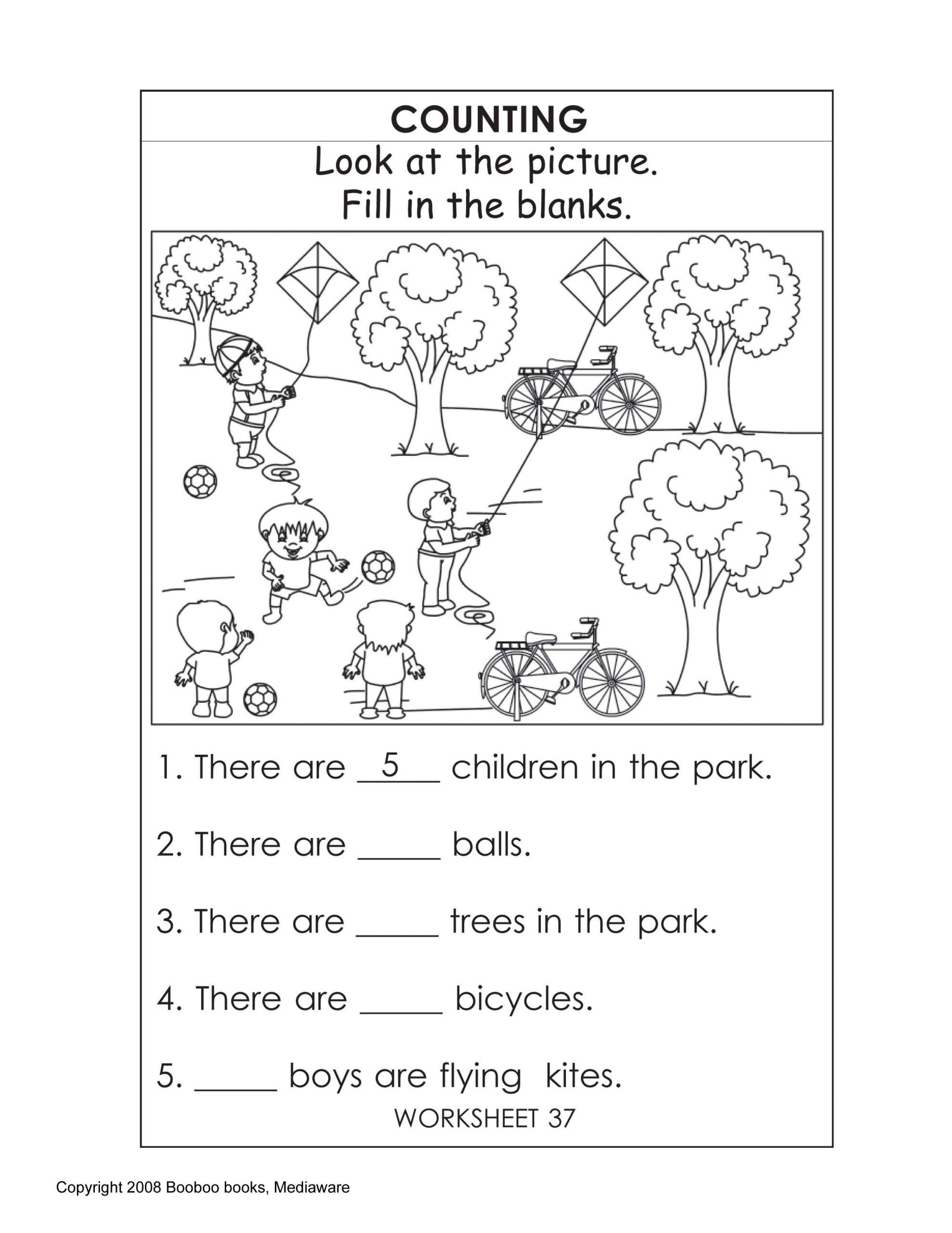 Social Studies for Kindergarten Worksheets