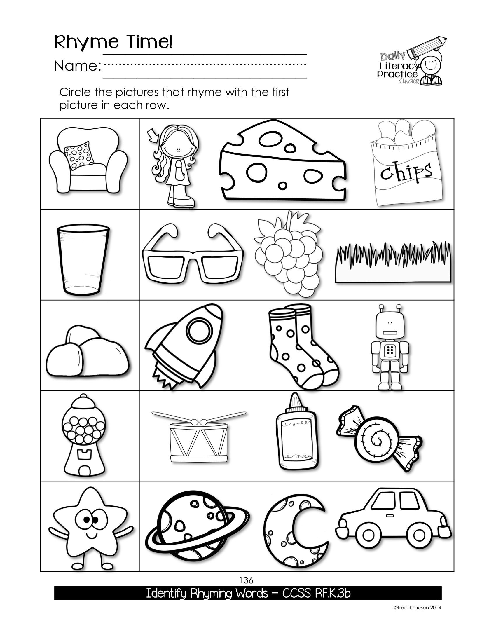 Social Studies Worksheets for Kindergarten
