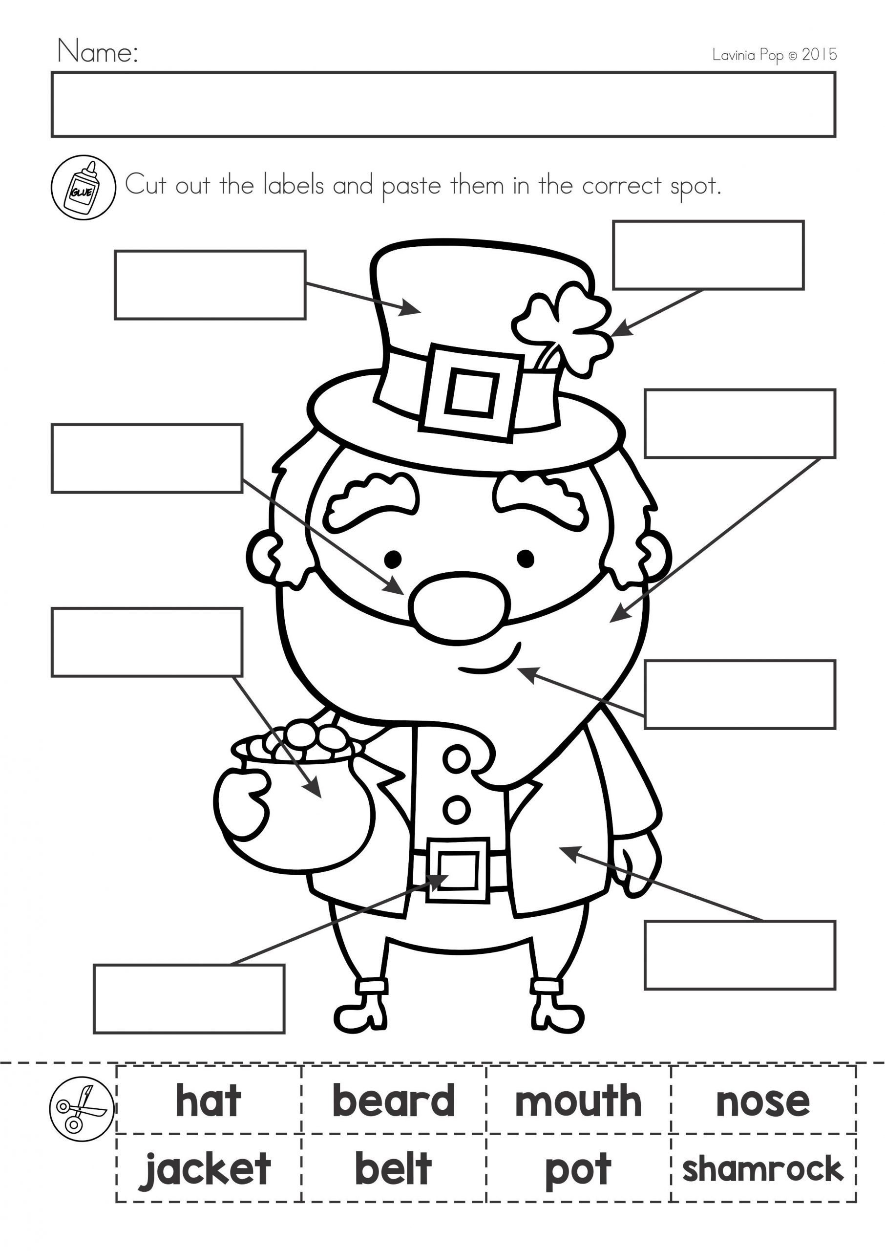 St Patrick s Day Math & Literacy Worksheets & Activities No