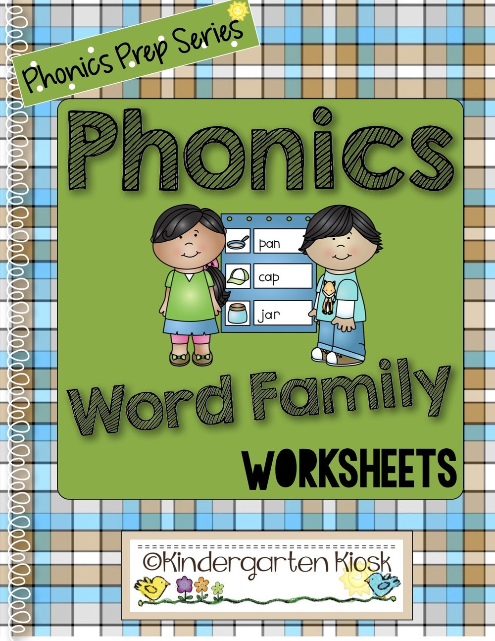 Un Word Family Worksheets Kindergarten