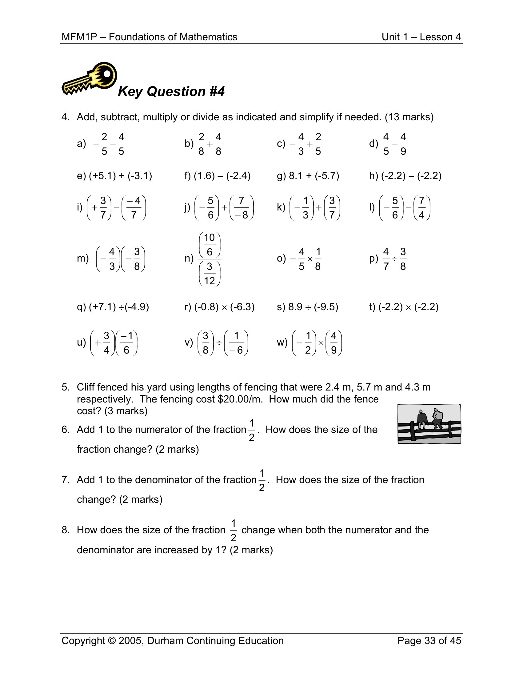 Converting Rational Numbers Worksheet