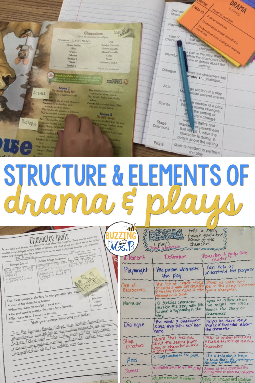 Drama Worksheets for High School