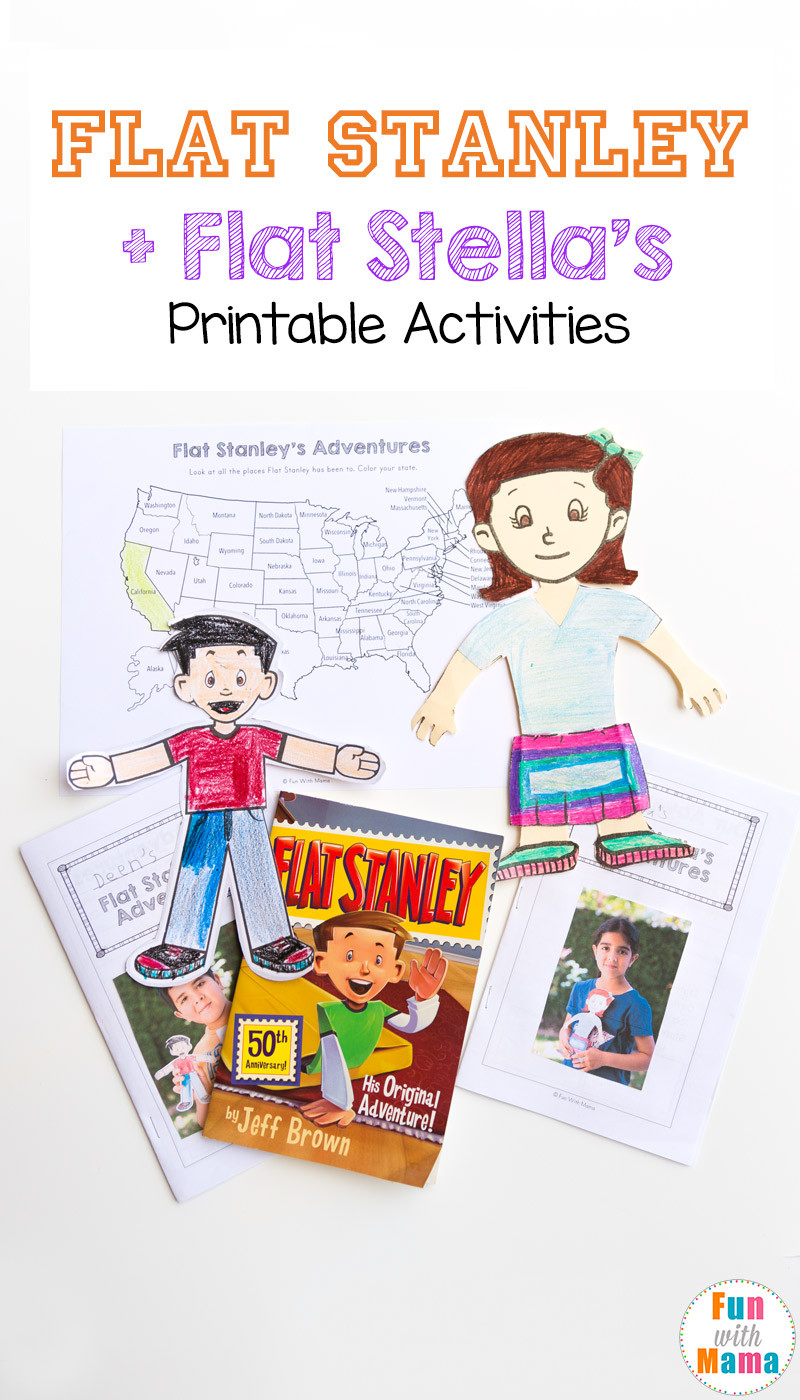 Flat Stanley Printable Worksheets  U2013 Worksheet For Kindergarten