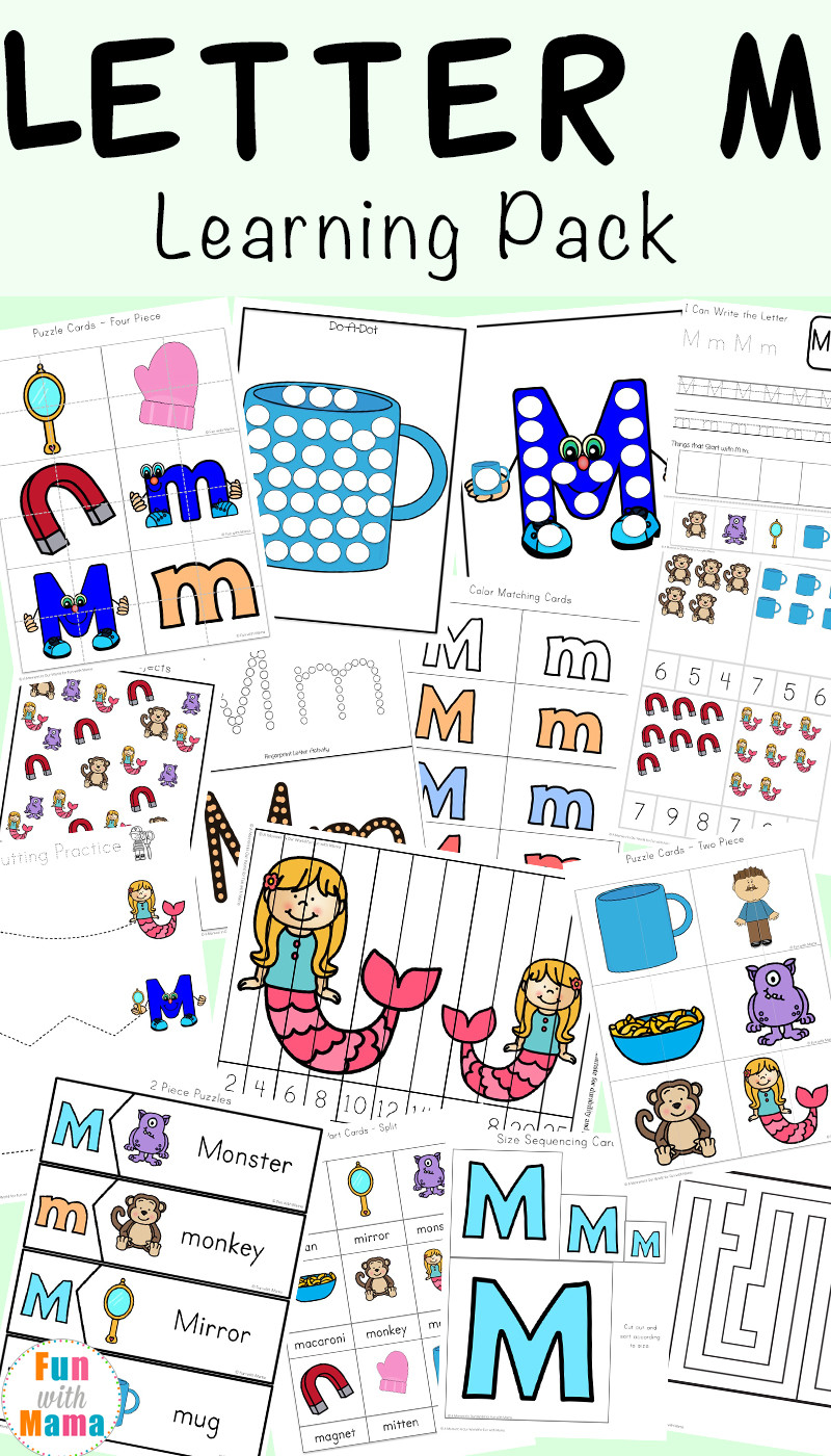 Free Letter Identification Worksheets