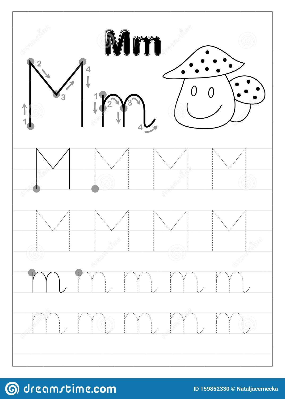 Free Letter M Worksheets