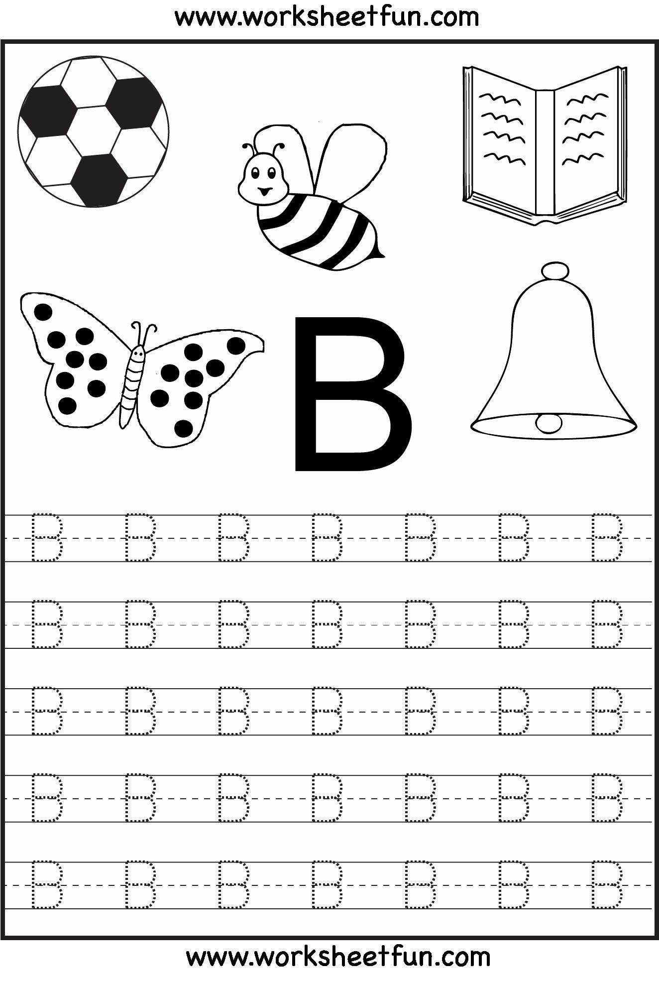 Free Letter Tracing Worksheets Pdf
