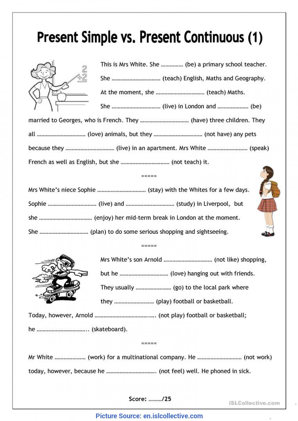 Geography Worksheets for High School