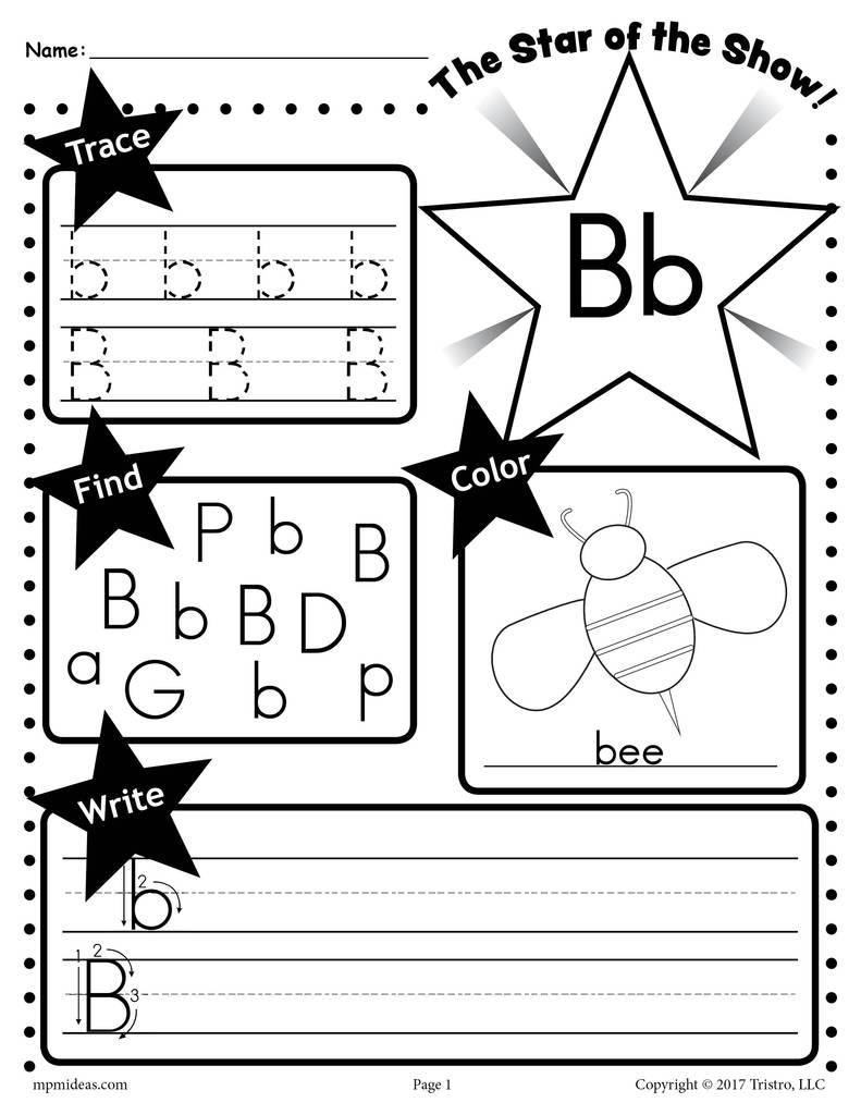 Letter A Recognition Worksheets