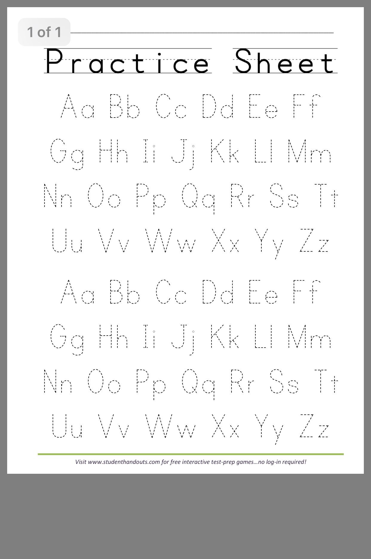 Letter H Worksheets Free