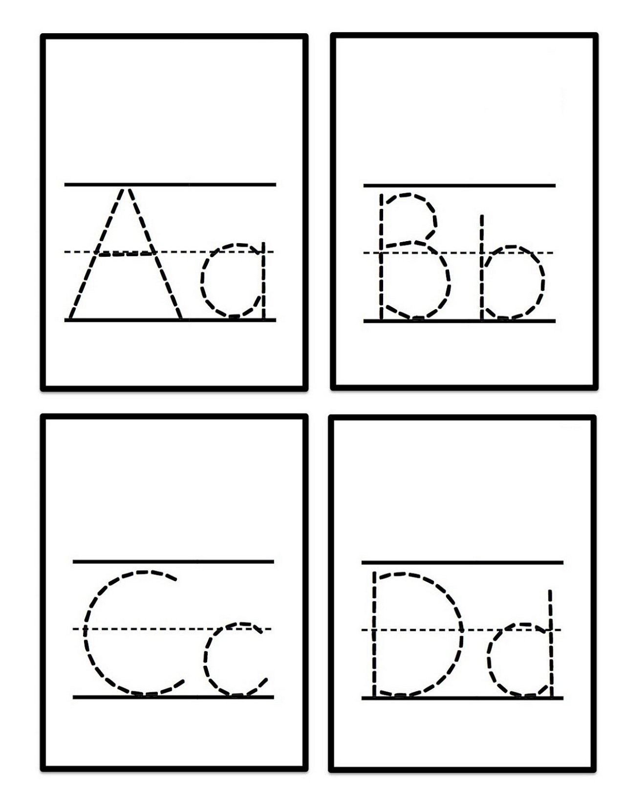 Letter Tracing Worksheets Pdf