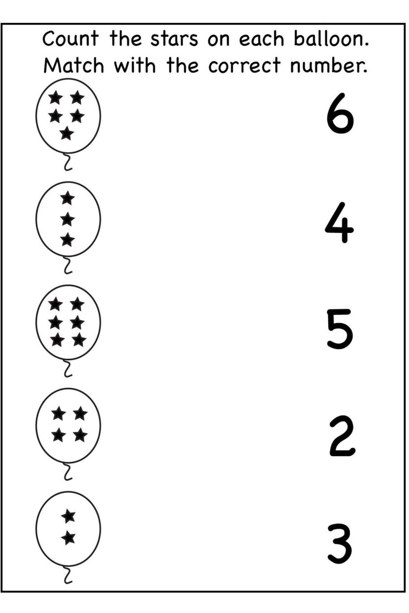 Number the Stars Worksheets Free