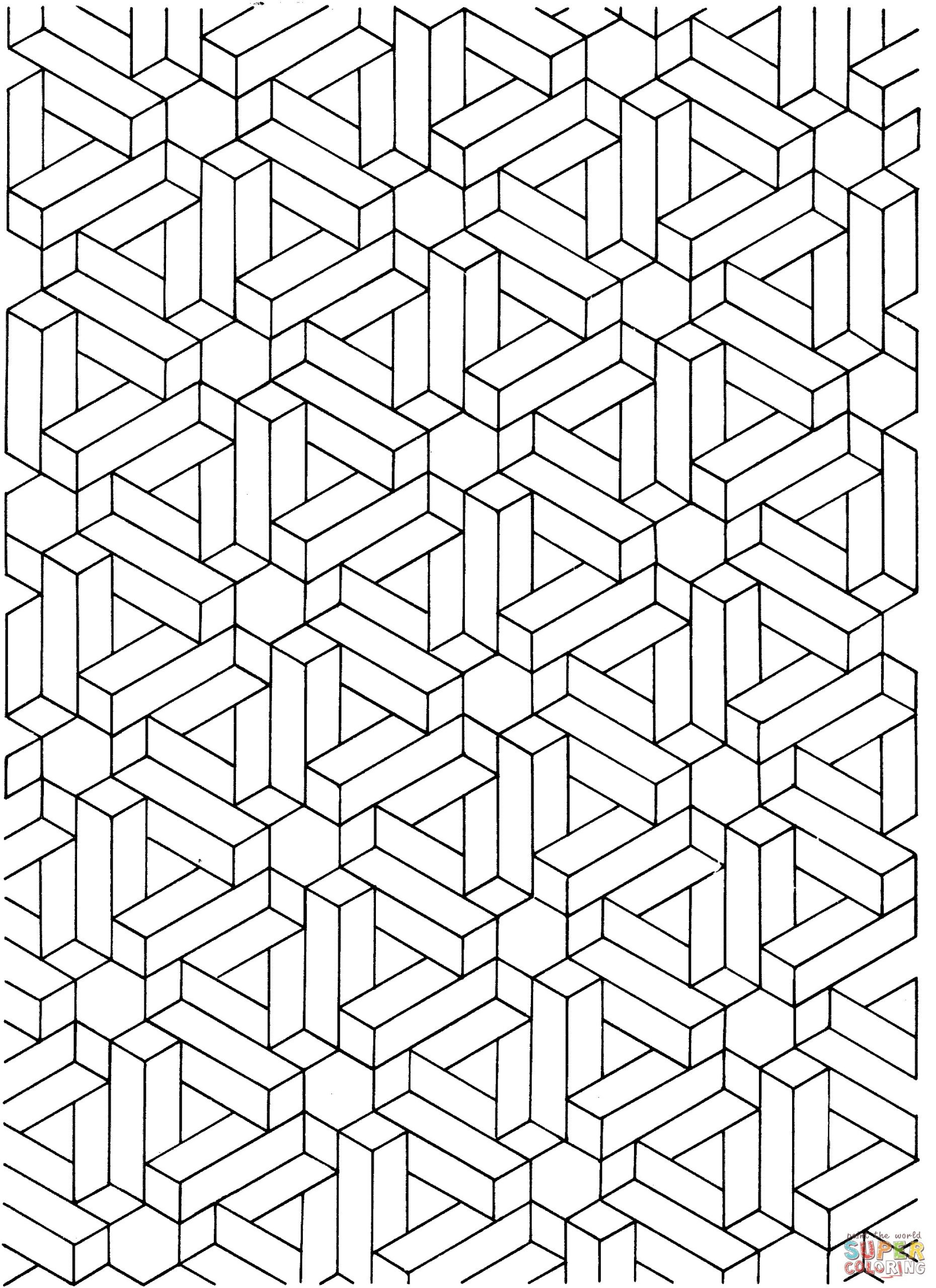 Optical Illusion Worksheets Printable