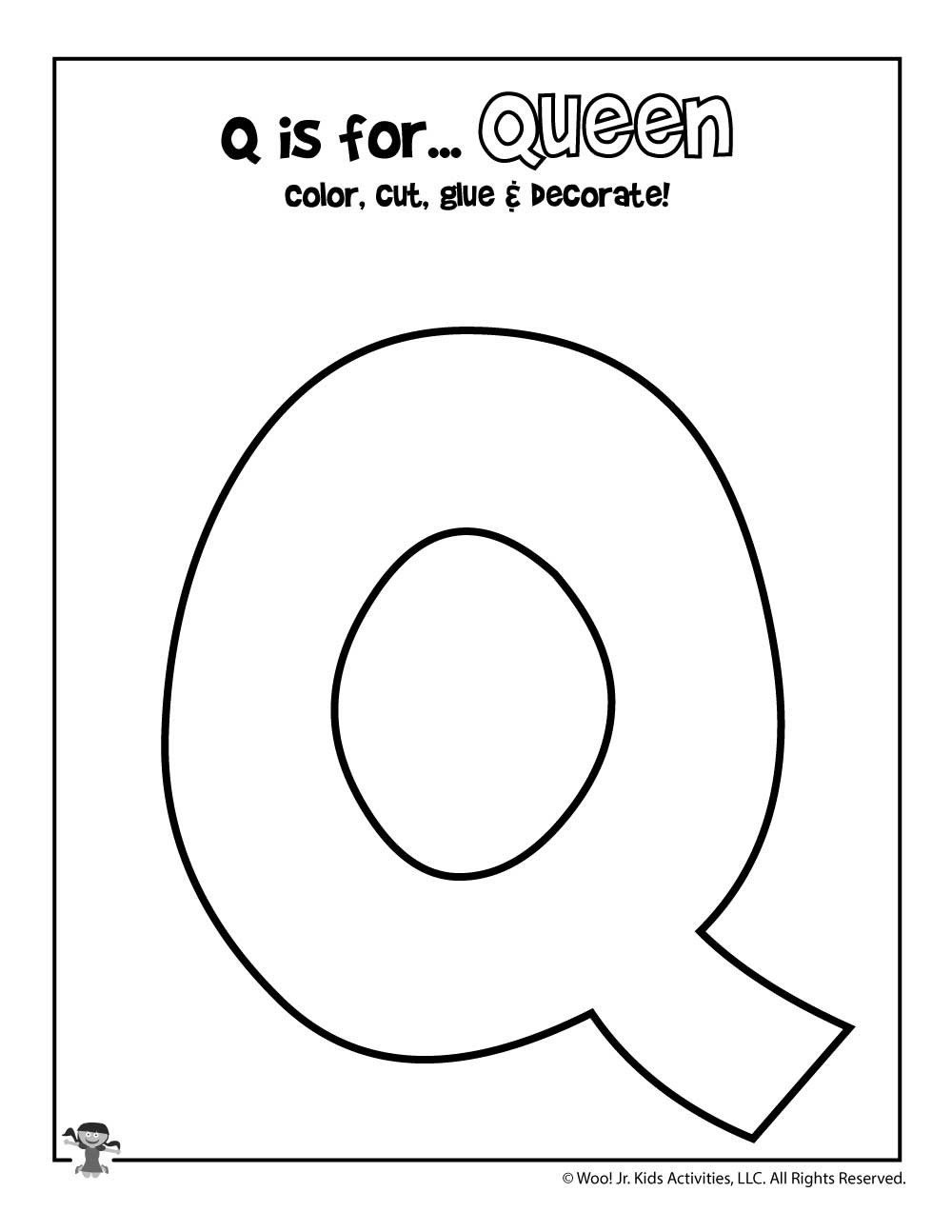 Preschool Letter Q Worksheets