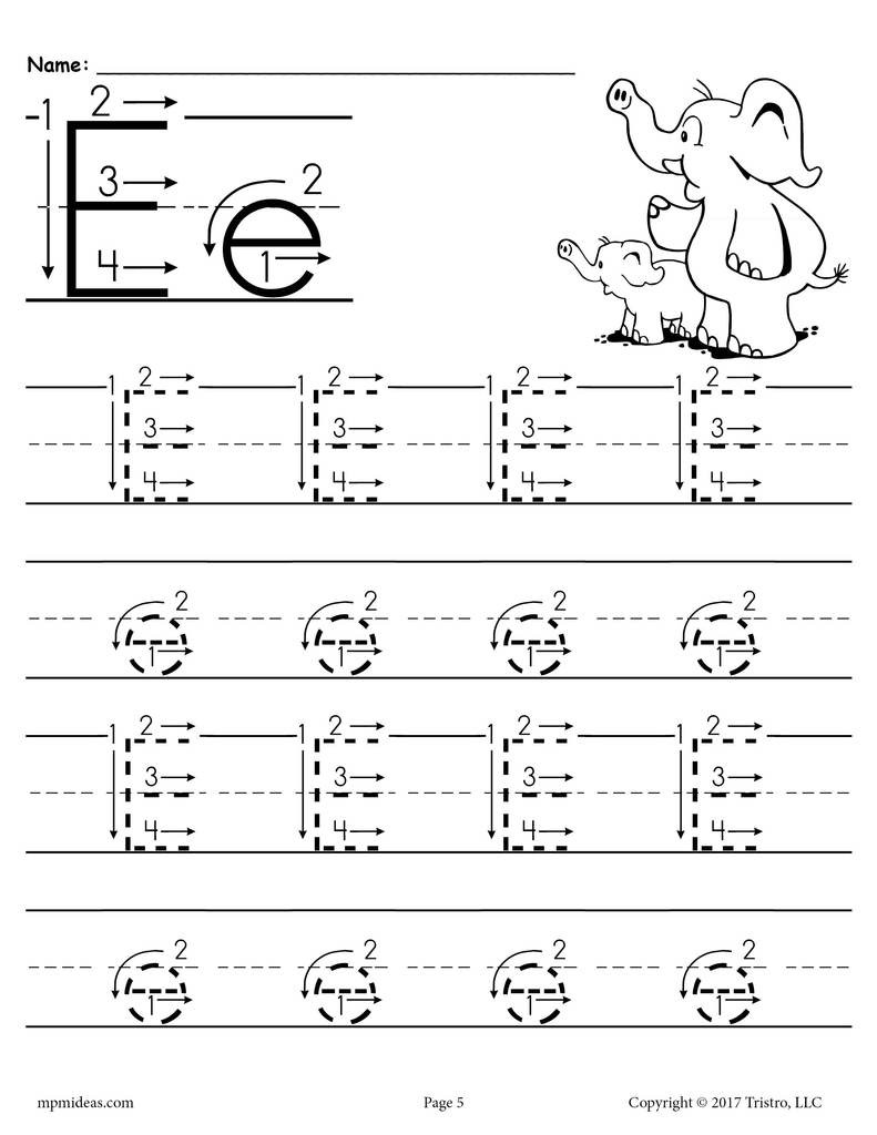 Preschool Worksheets Letter B