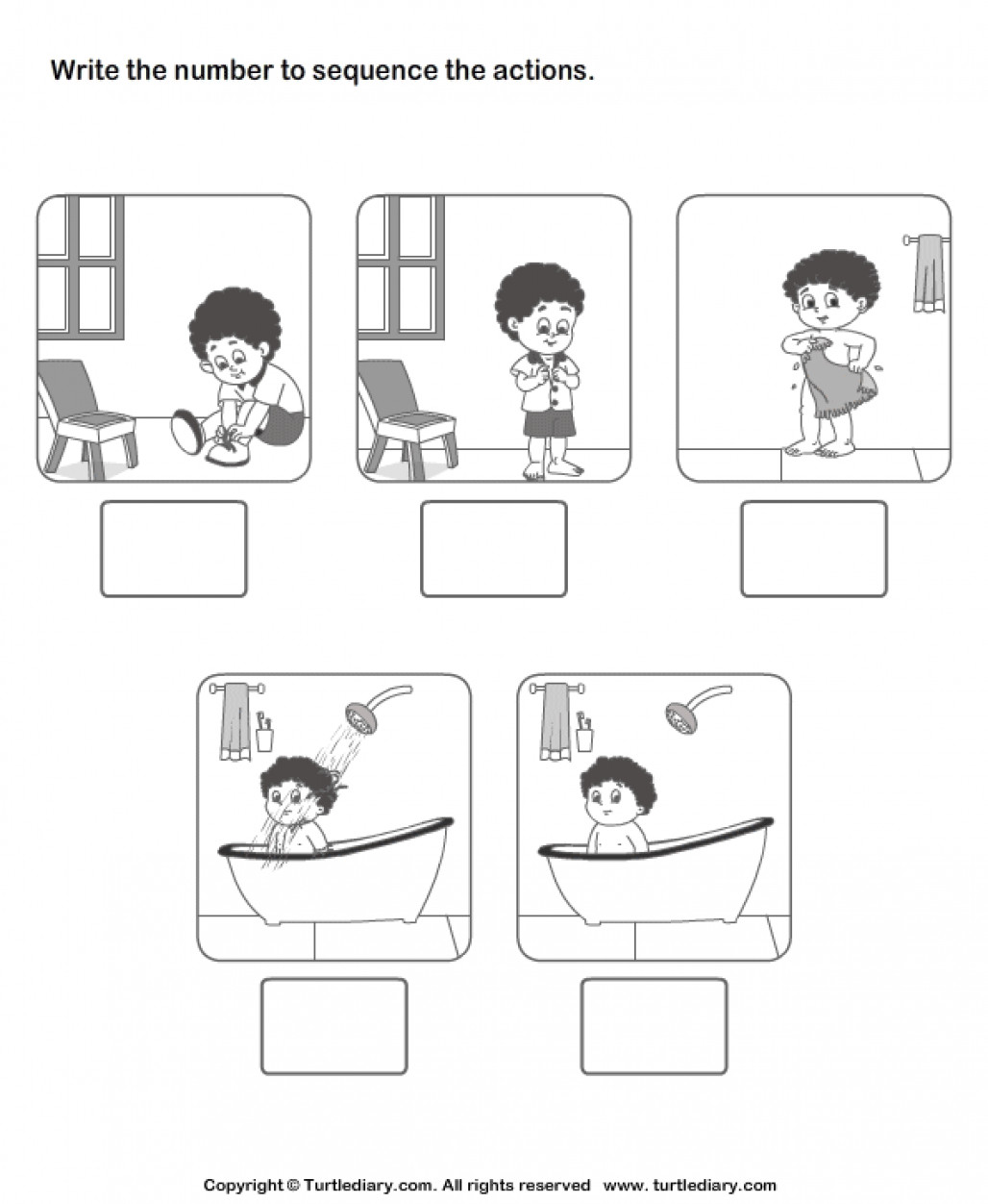 Printable Sequencing Worksheets