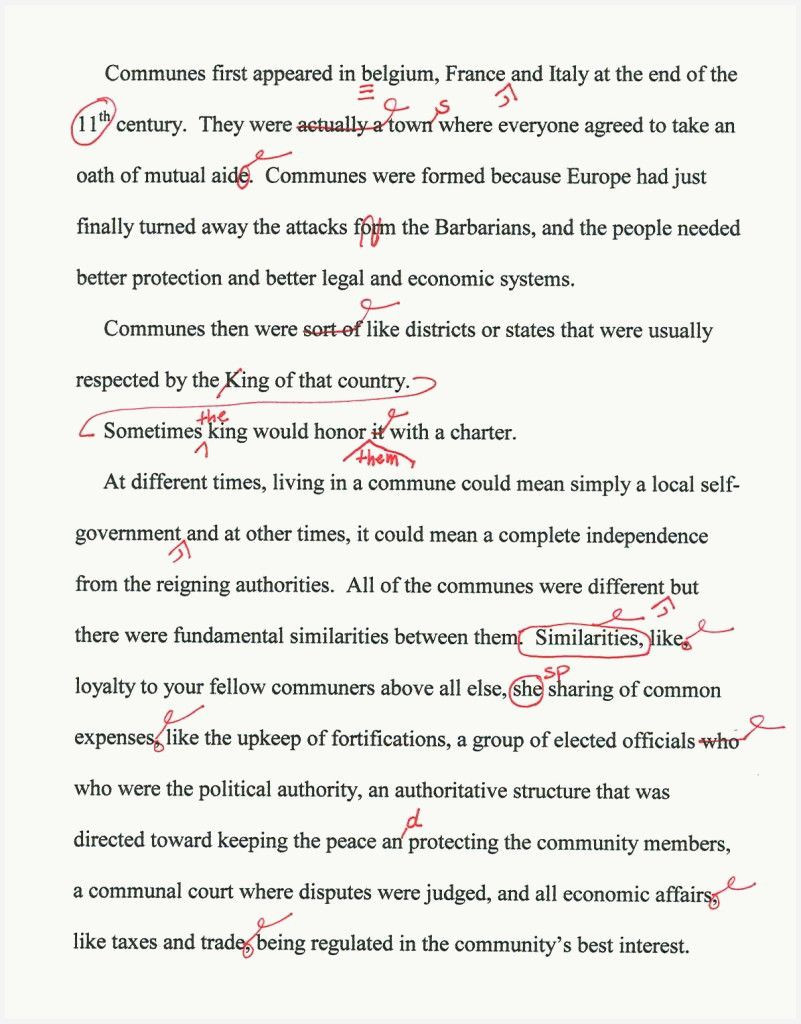 Example of life story essay