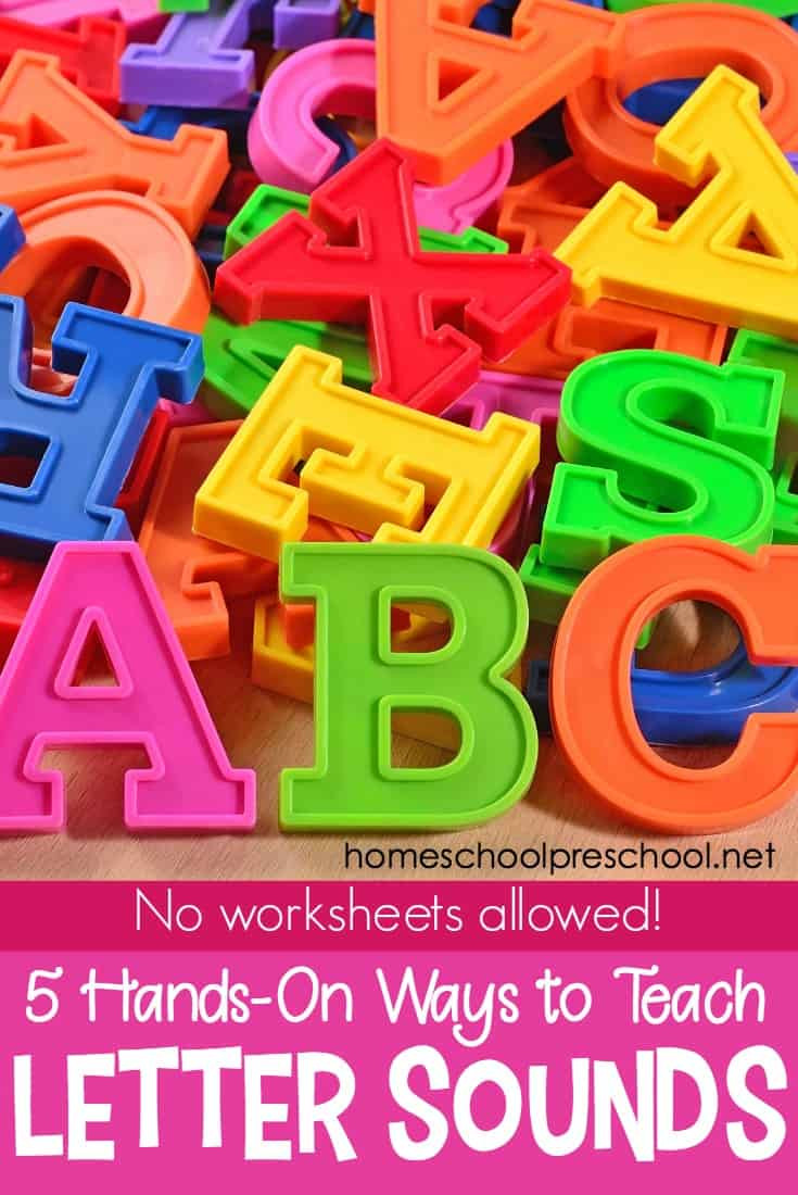Teaching Letter sounds Worksheets