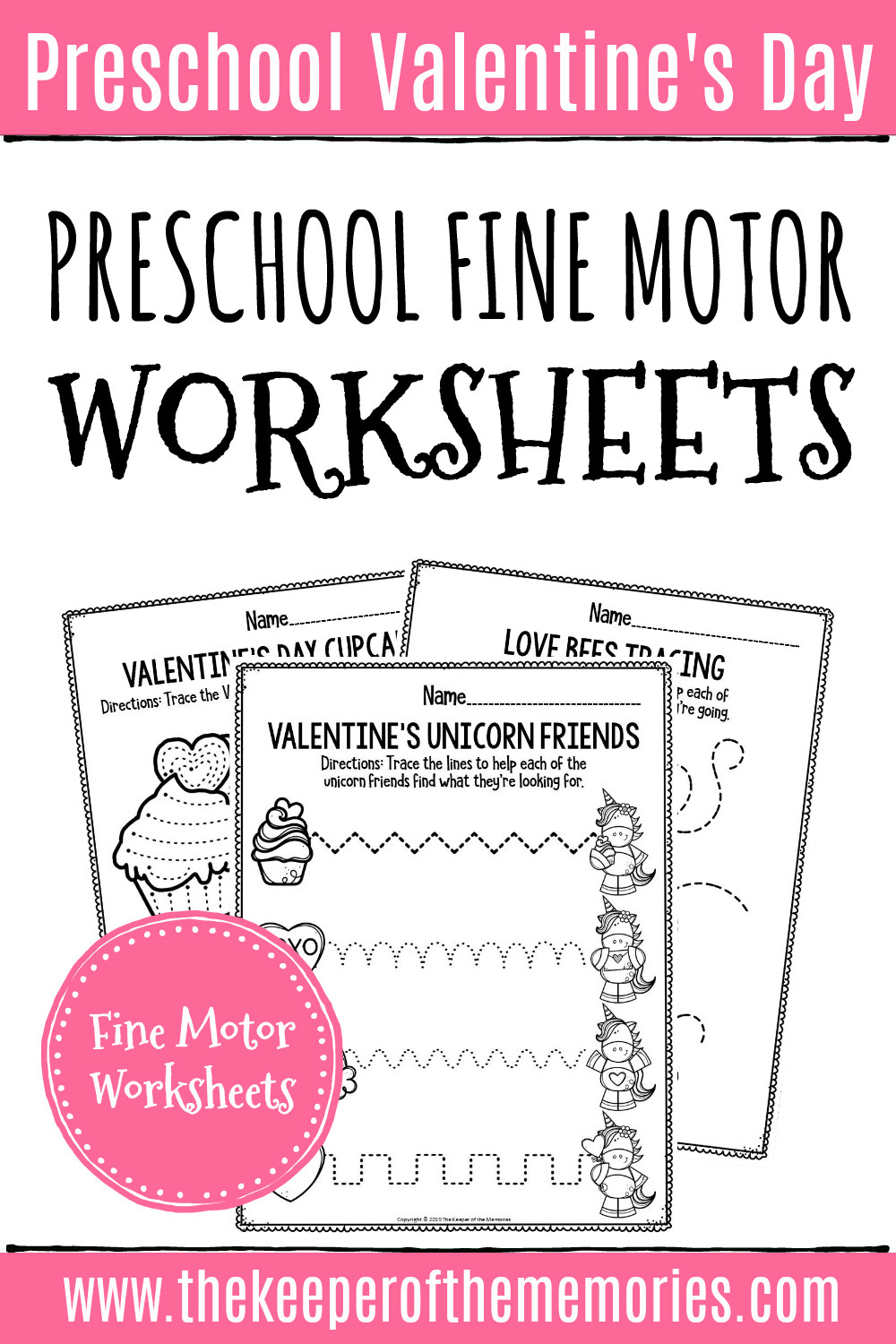 Valentine Day Printable Worksheets
