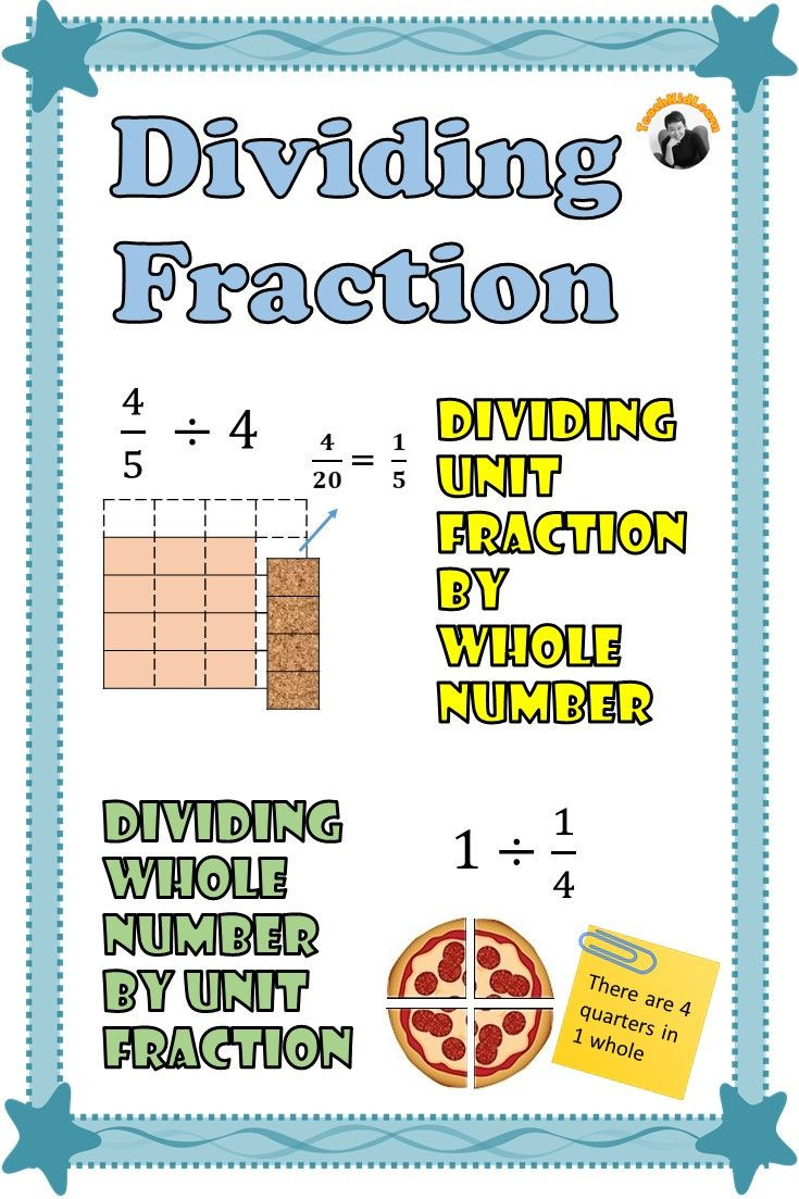Whole Numbers and Fractions Worksheets