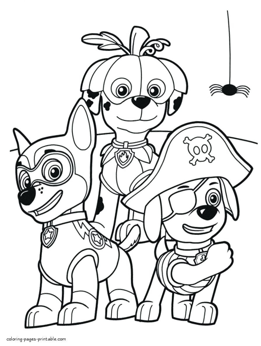 Halloween Colouring Worksheets Pdf