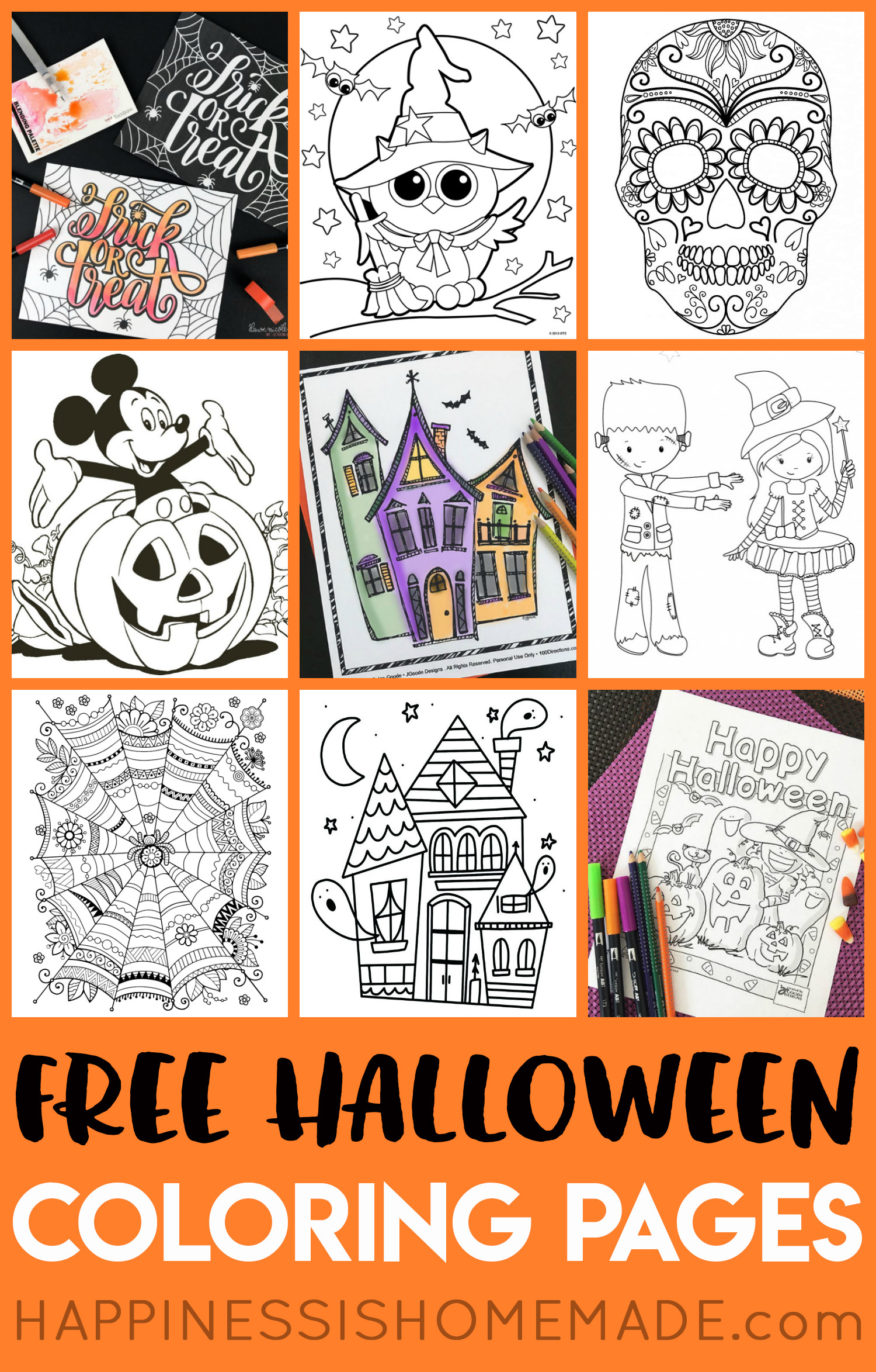 Halloween Day Worksheets
