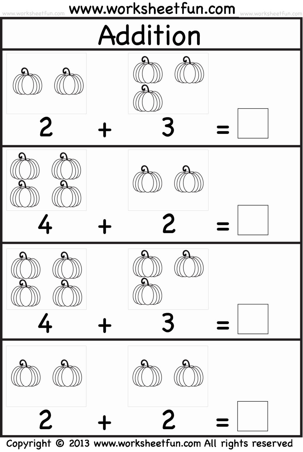 Halloween Numeracy Worksheets