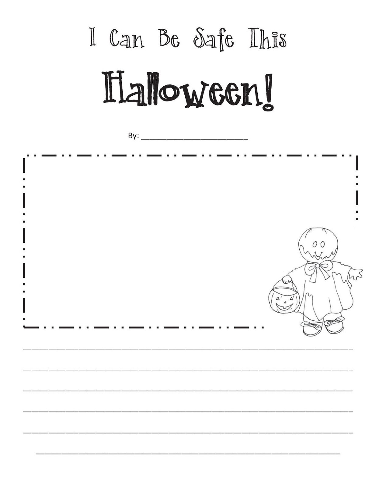 Halloween Safety Worksheets