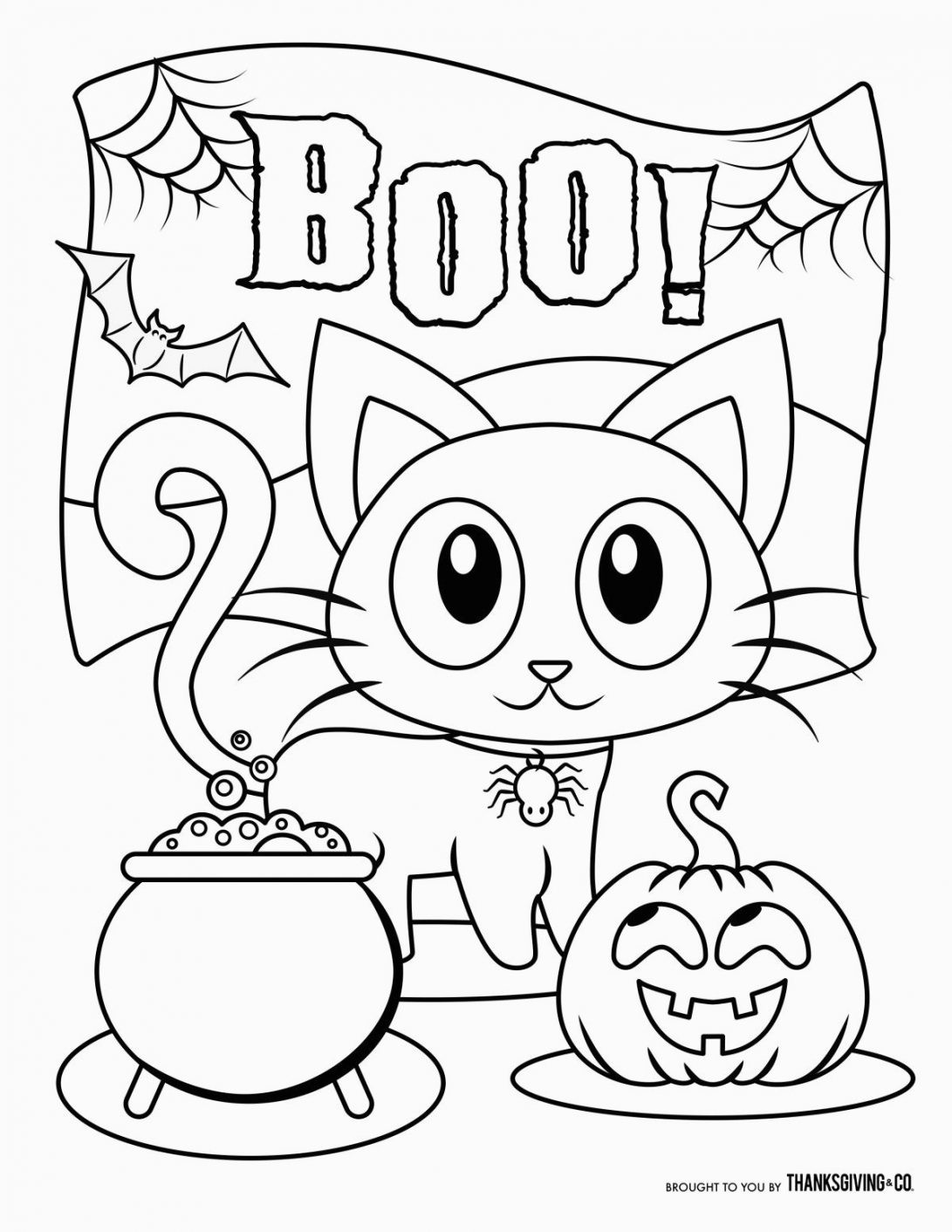 Halloween Worksheets for Preschoolers Pdf