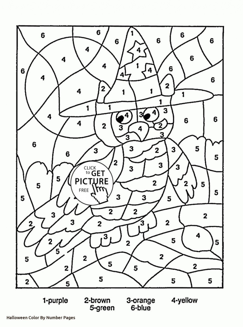 Halloween Worksheets to Color